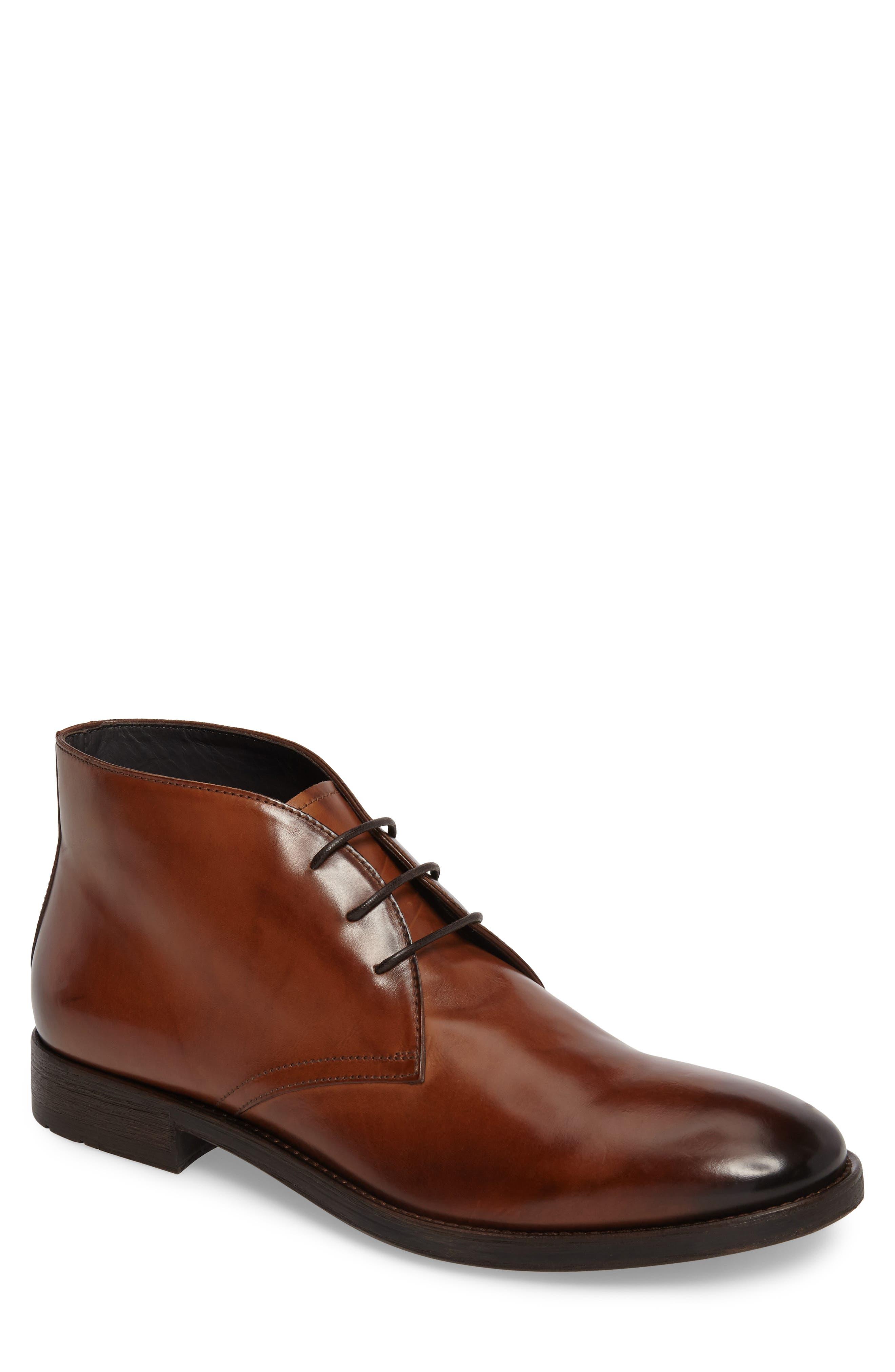 Connor Chukka Boot,                         Main,                         color, Cognac