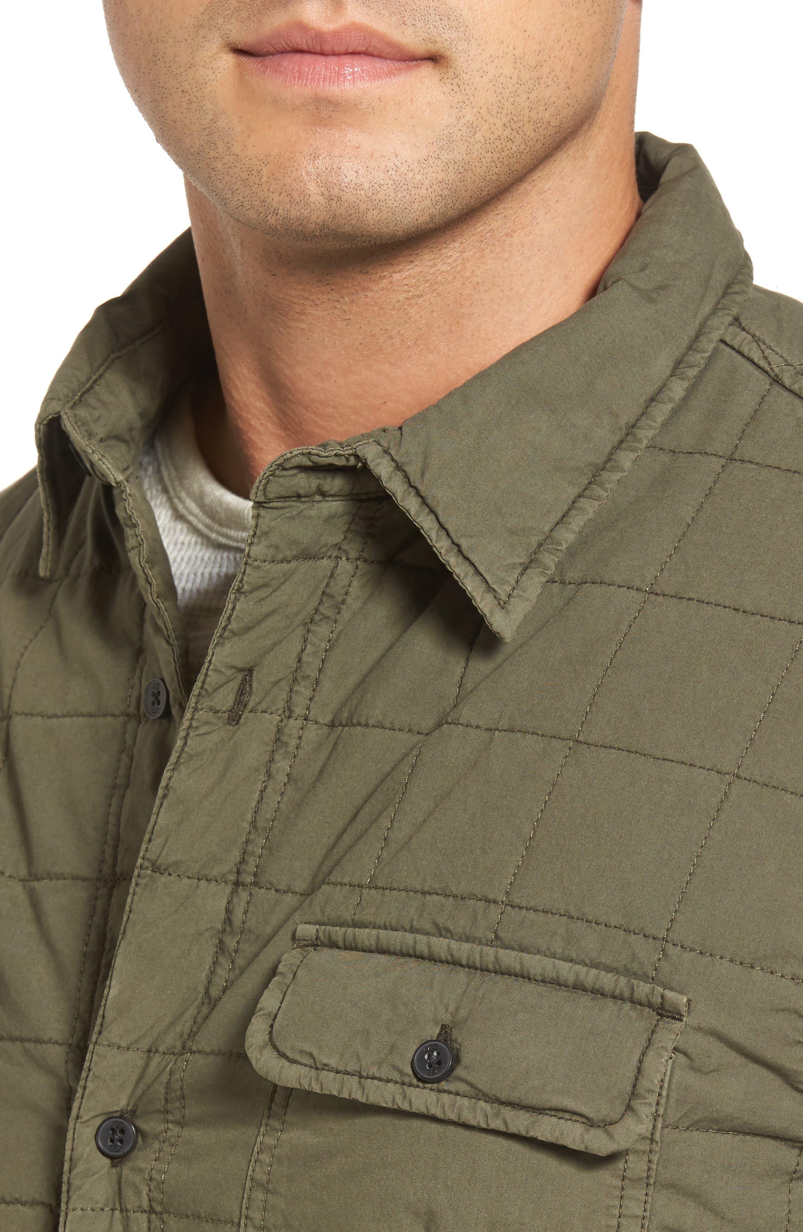Alternate Image 4  - UGG® Quilted Shirt Jacket