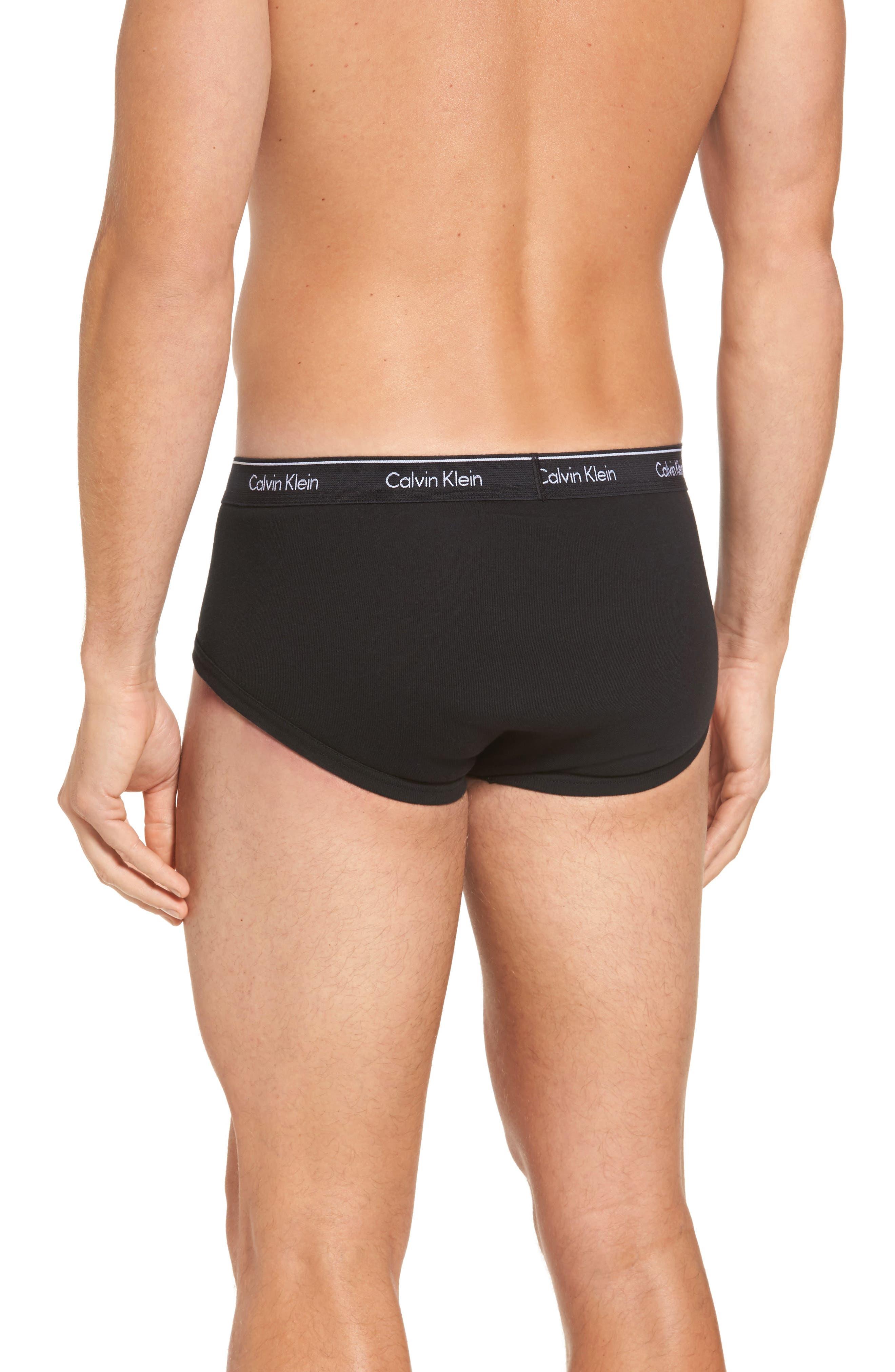 Alternate Image 3  - Calvin Klein 4-Pack Cotton Briefs