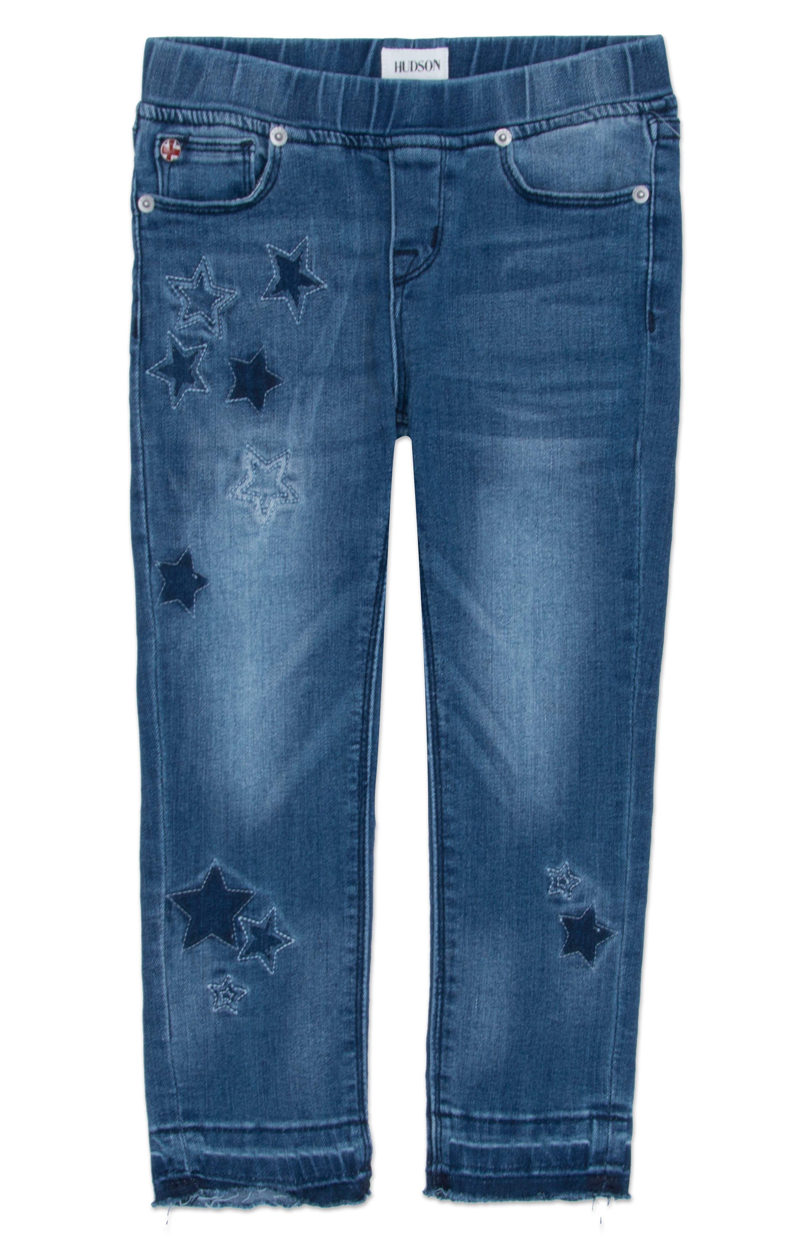 Hudson Kids Stardust Skinny Jeans (Baby Girls)