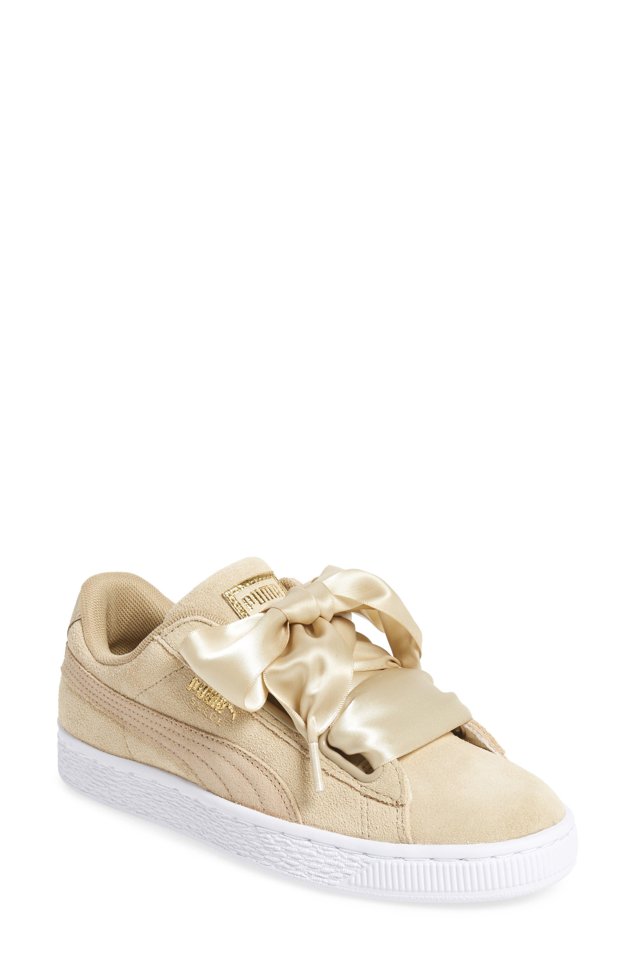 Alternate Image 1 Selected - Puma Basket Heart Sneaker