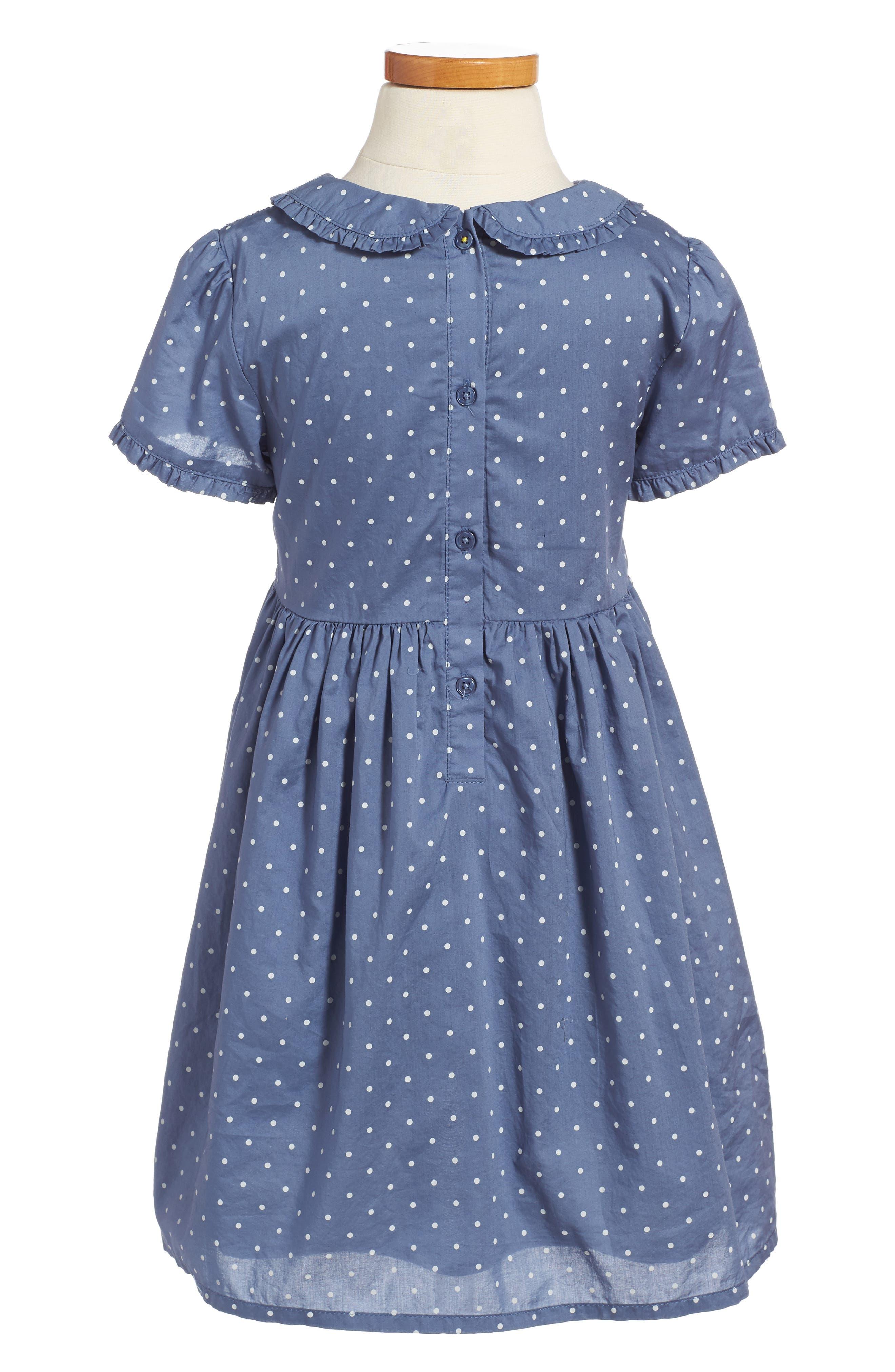 Alternate Image 2  - Mini Boden Pretty Smock Dress (Toddler Girls, Little Girls & Big Girls)