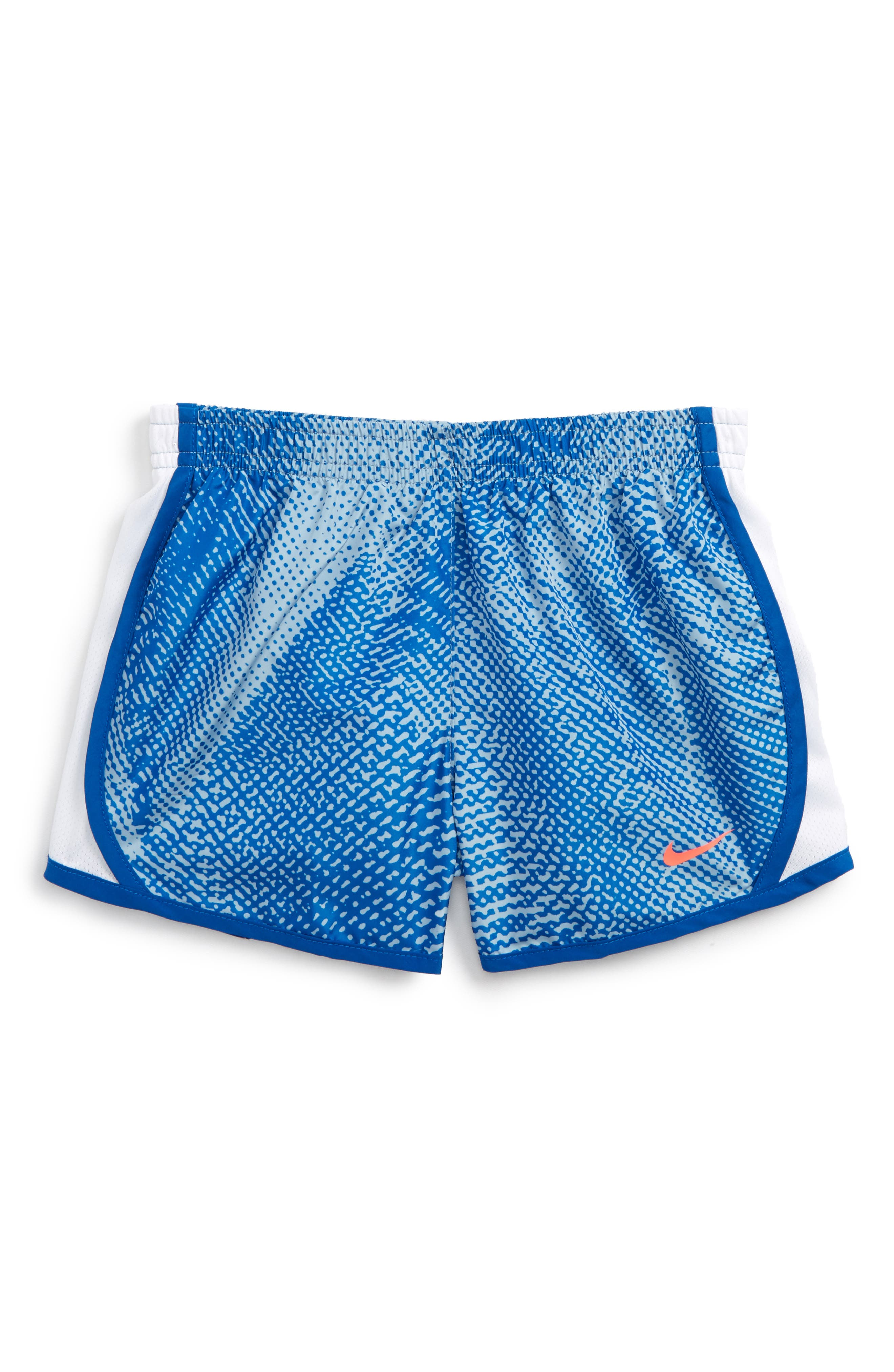 Tempo Dry Athletic Shorts,                         Main,                         color, Blue Jay