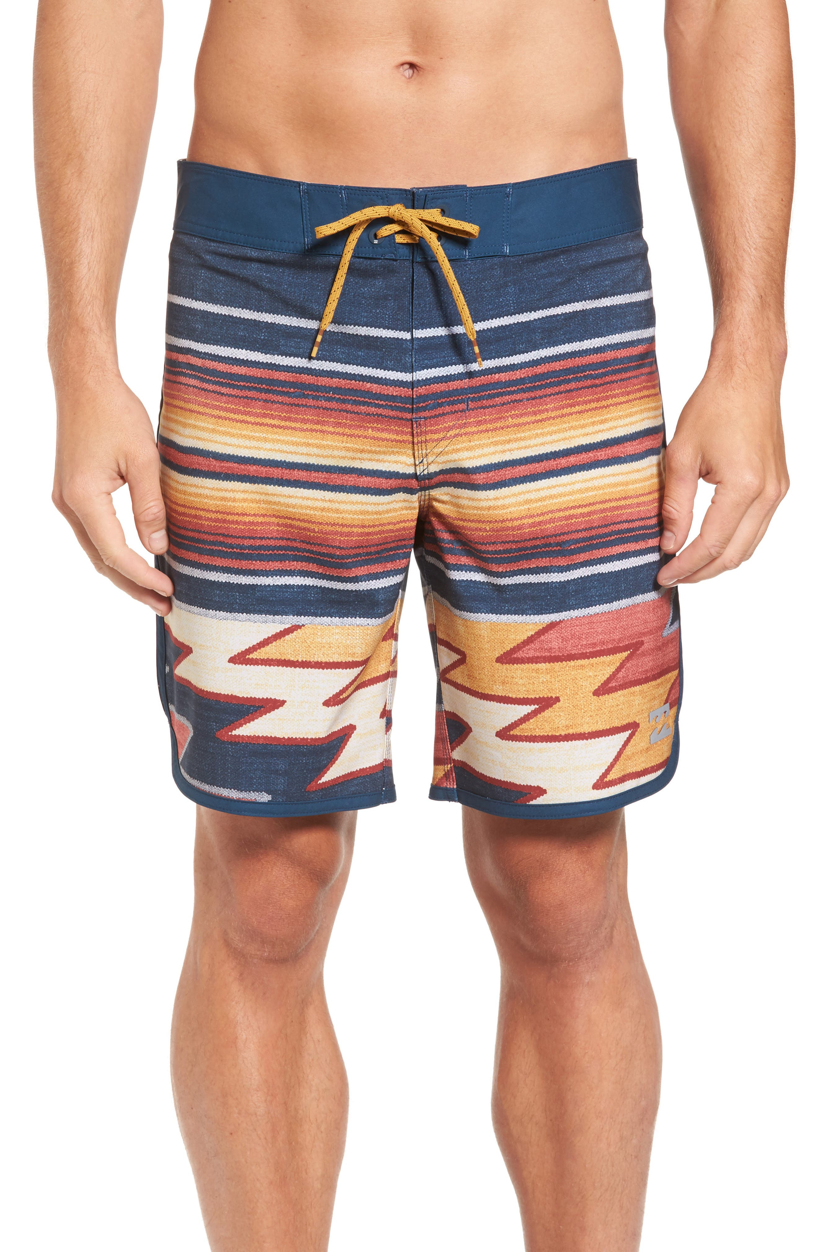 73 X Lineup Board Shorts,                         Main,                         color, Blue