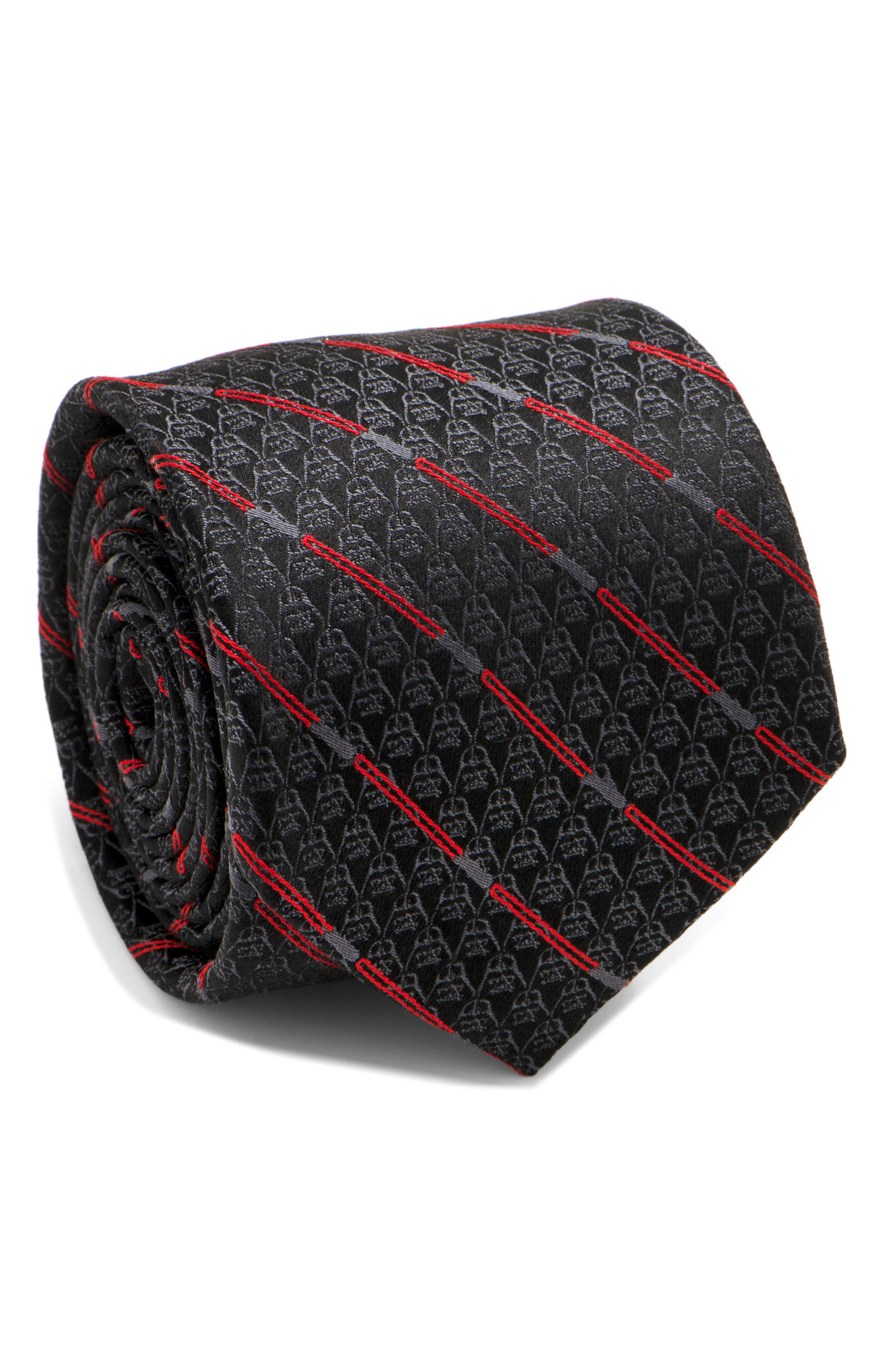 Cufflinks Inc. Darth Vader Light Saber Silk Tie