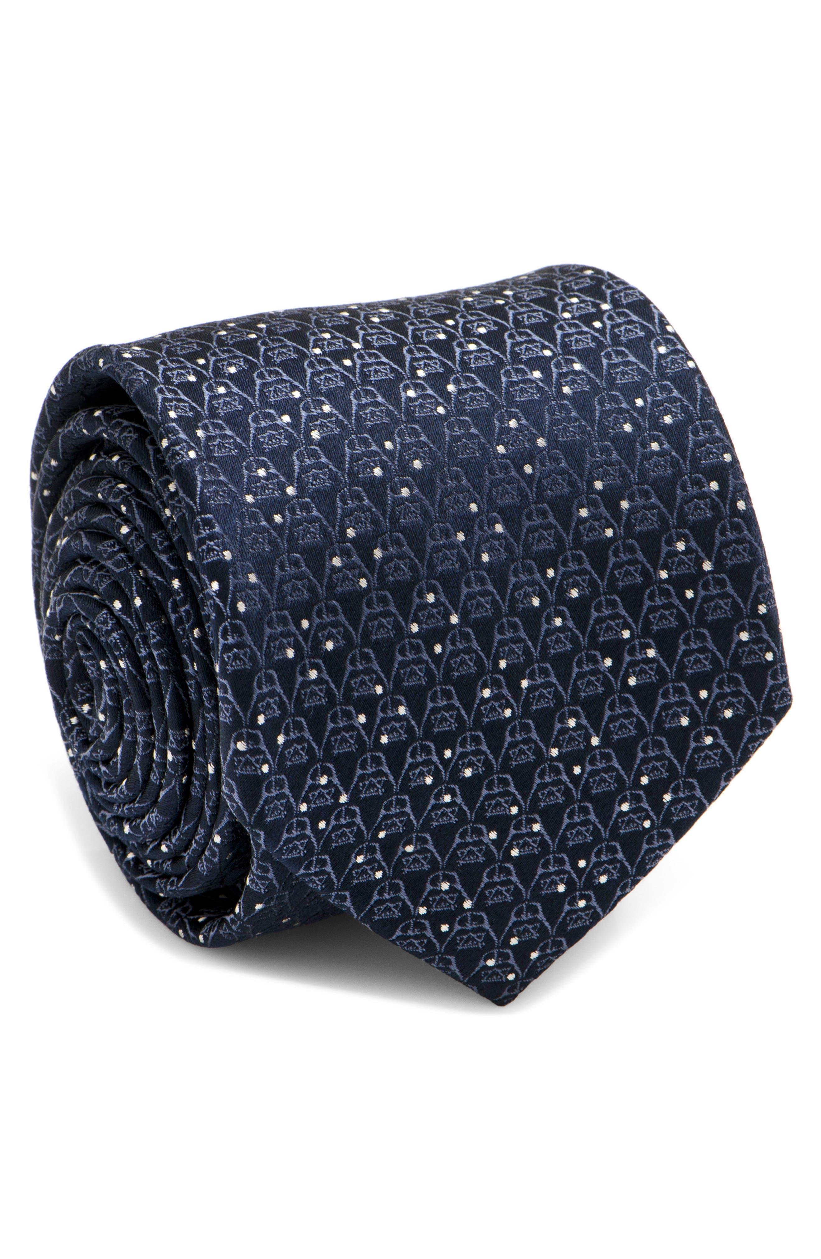 Cufflinks Inc. Darth Vader Dot Tie,                         Main,                         color, Navy