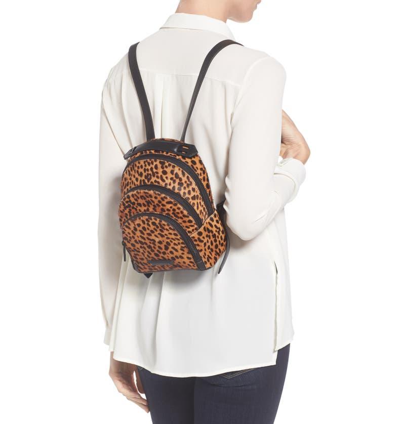 Main Image - KENDALL + KYLIE Mini Sloane Genuine Calf Hair & Leather Backpack