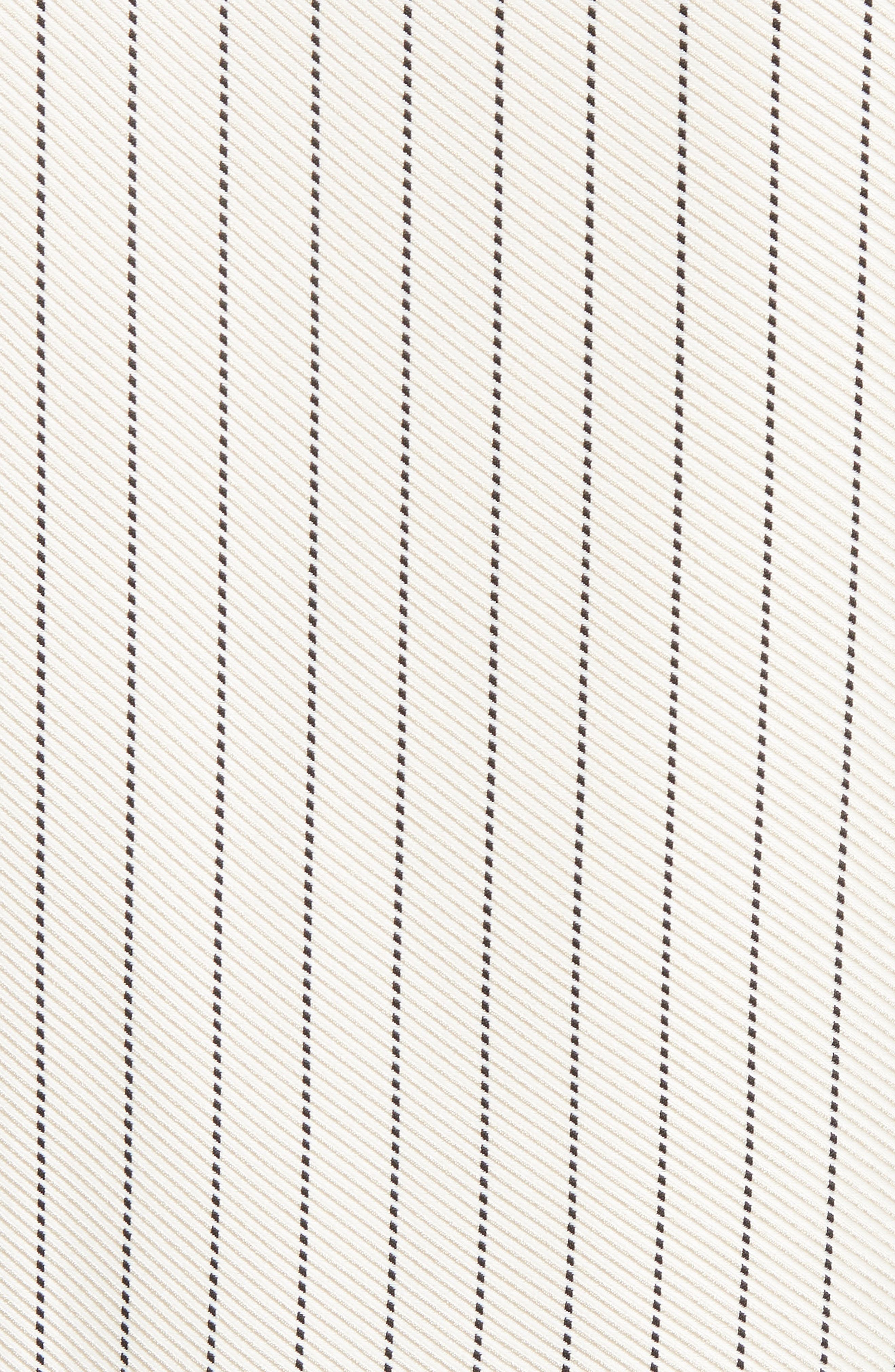 Asymmetrical Pinstripe Blouse,                             Alternate thumbnail 6, color,                             Sand