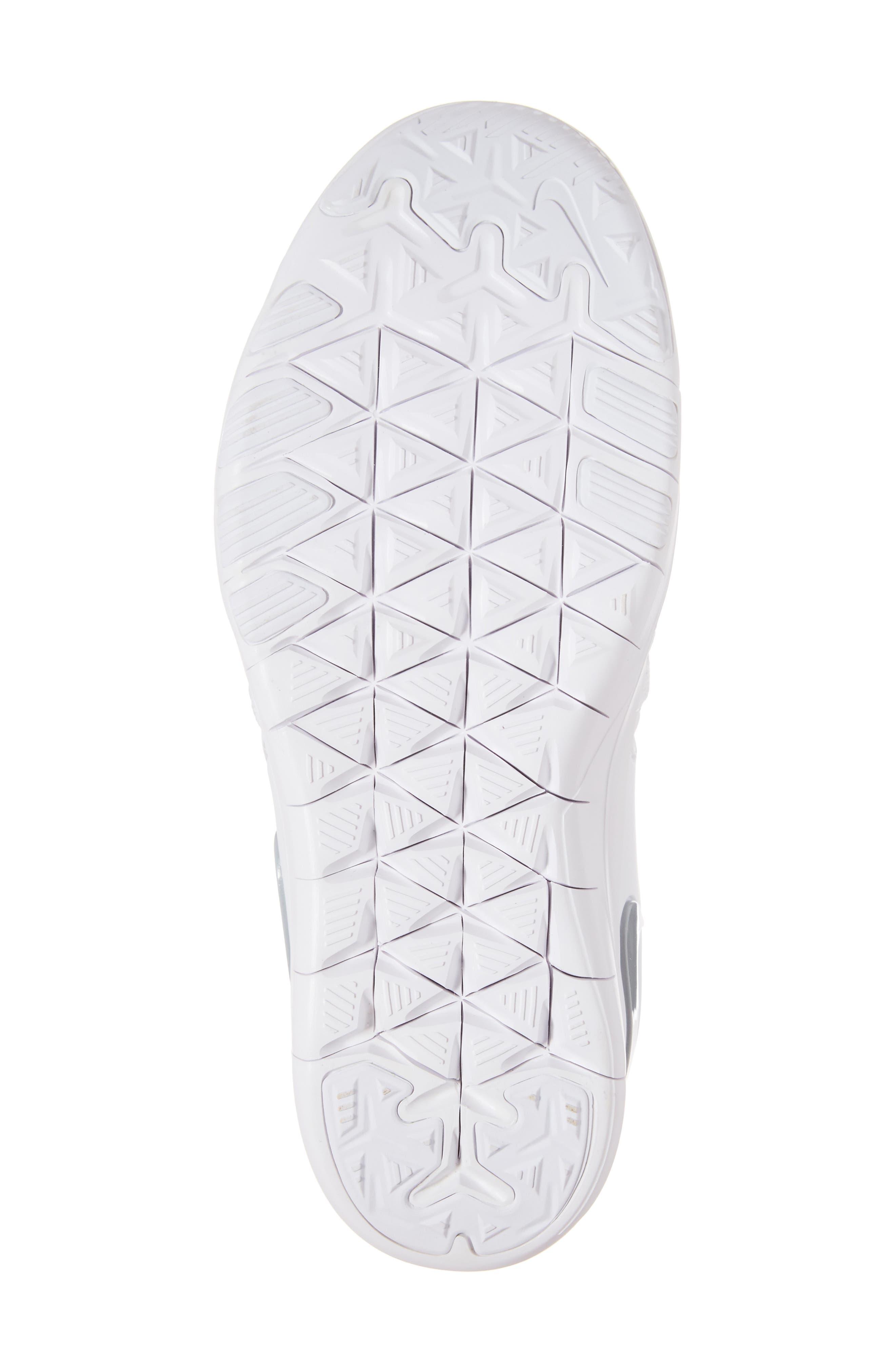 Free TR 7 Training Shoe,                             Alternate thumbnail 6, color,                             White/ Metallic Silver