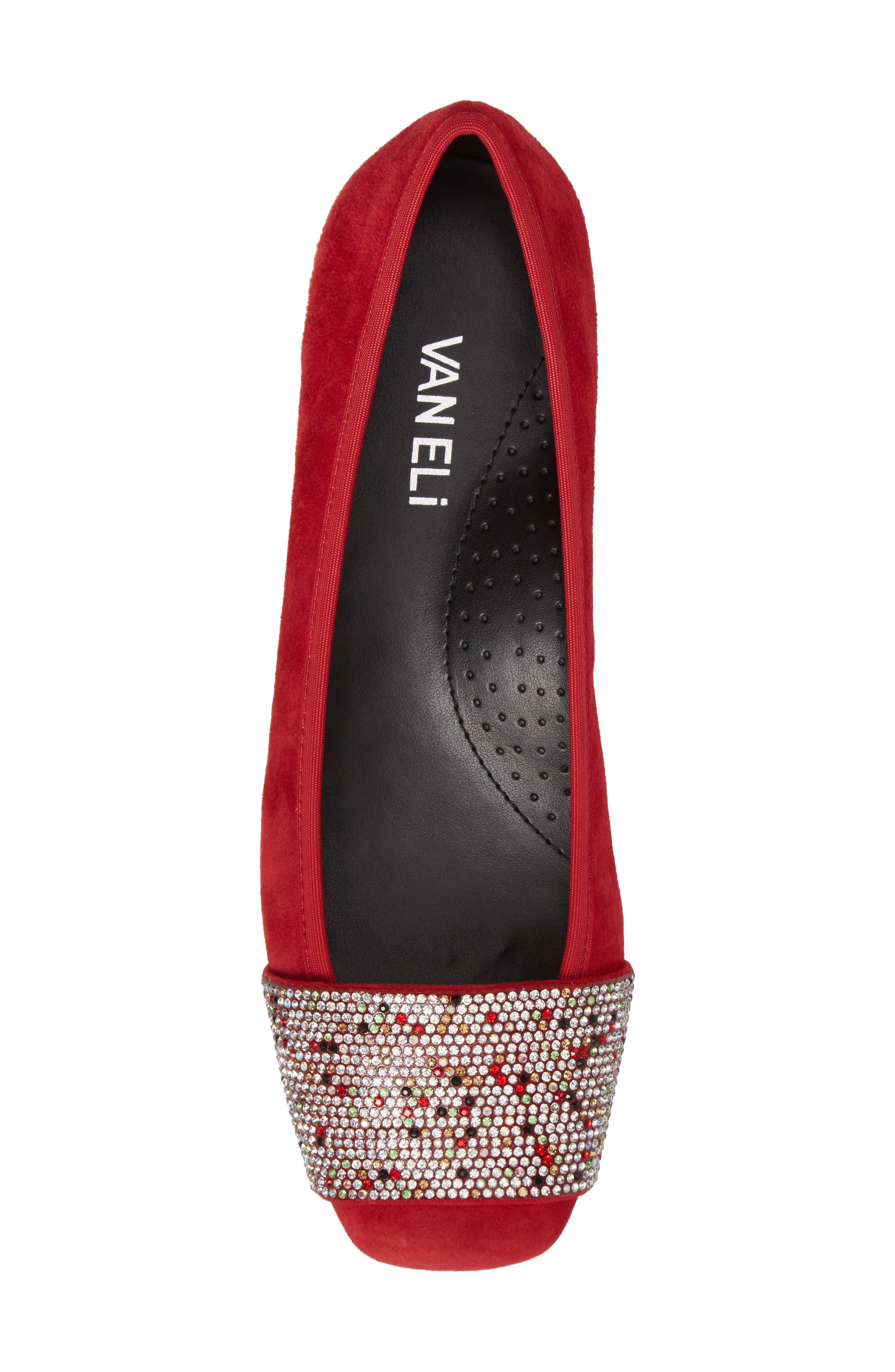 Alternate Image 5  - VANELi Nabila Embellished Ballet Flat (Women)