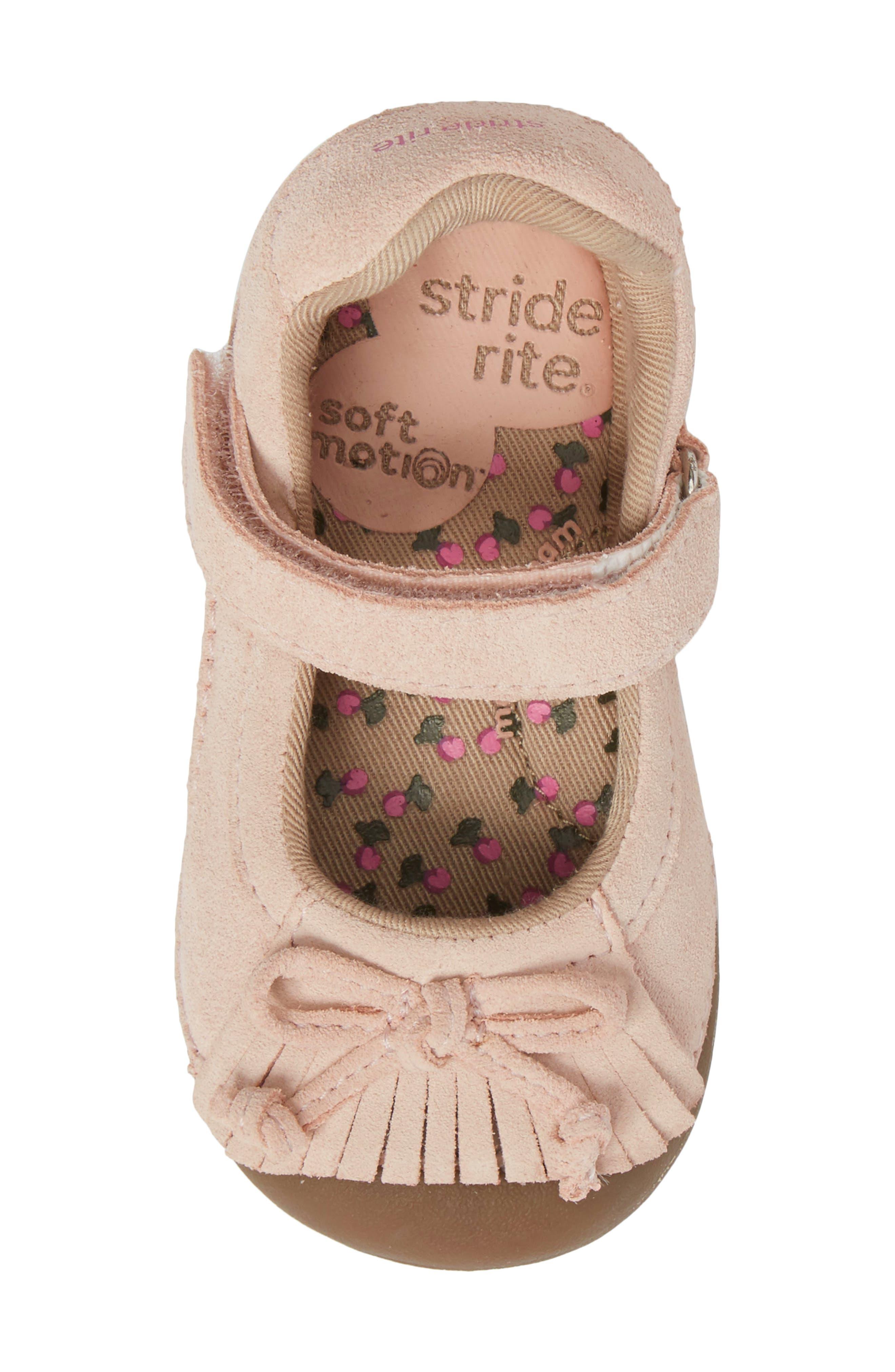 Alternate Image 5  - Stride Rite Soft Motion™ Georgina Mary Jane Flat (Baby & Walker)