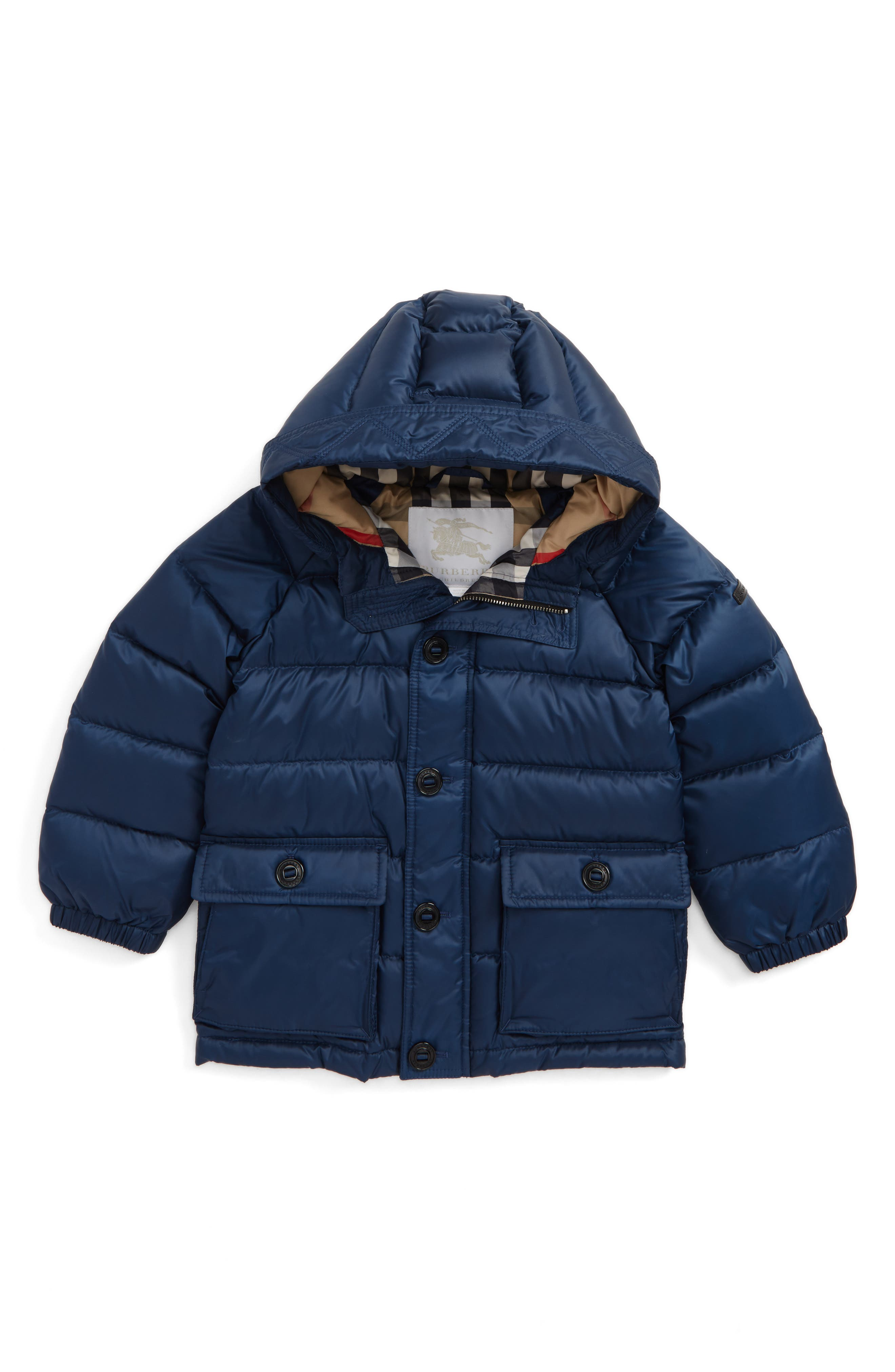 Burberry Lachlan Hooded Down Jacket (Baby Boys & Toddler Boys)