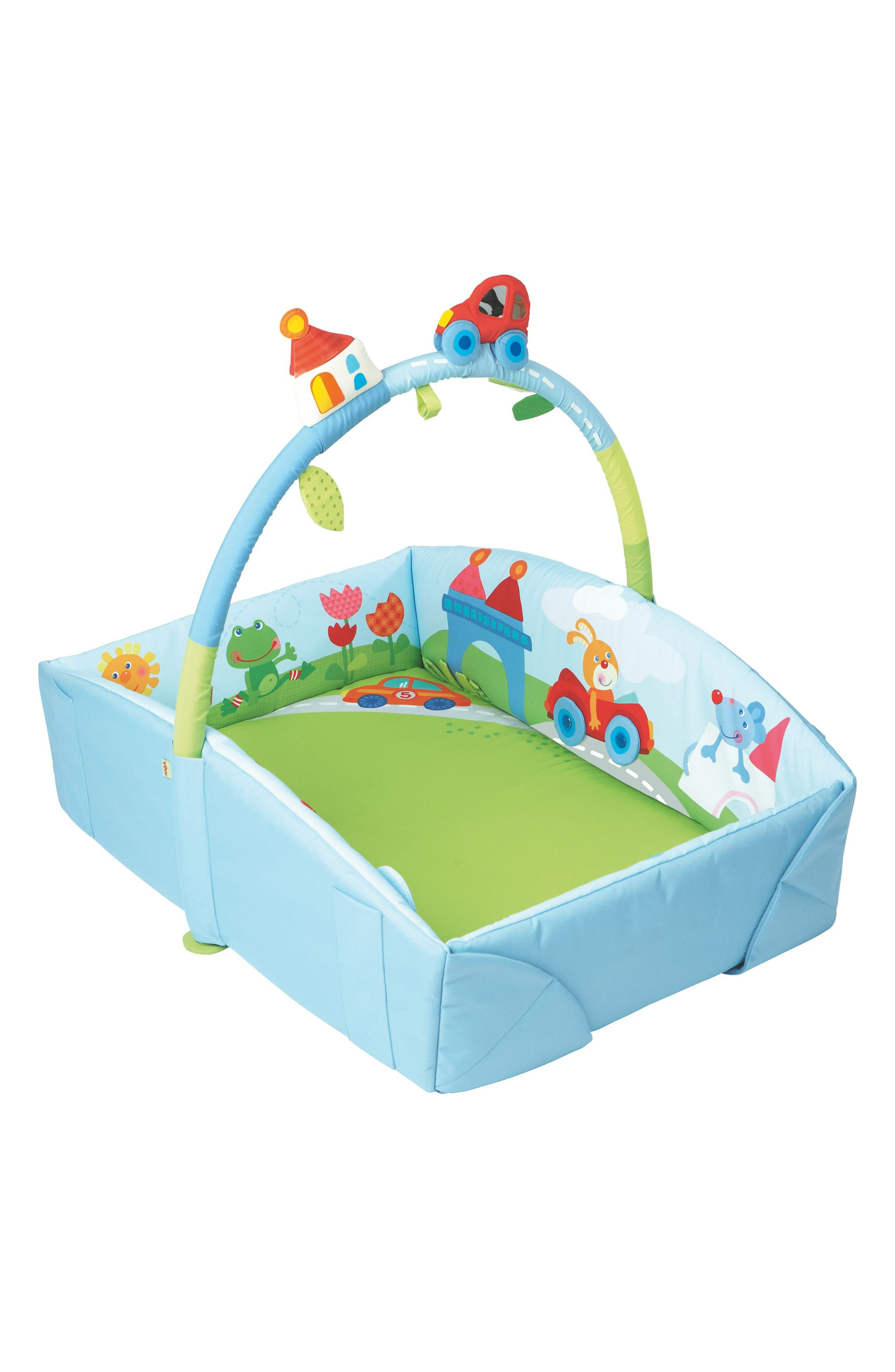 Whimsy City Play Gym,                         Main,                         color, Blue