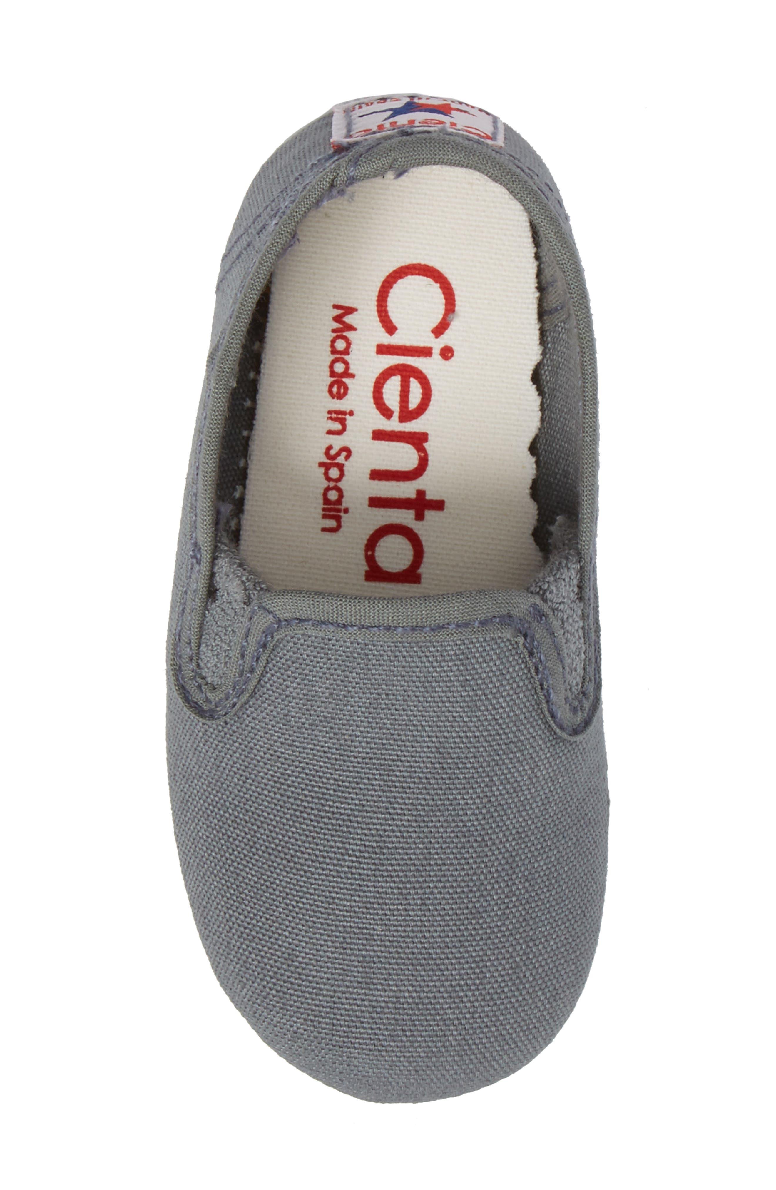 Slip-On Sneaker,                             Alternate thumbnail 5, color,                             Light Grey