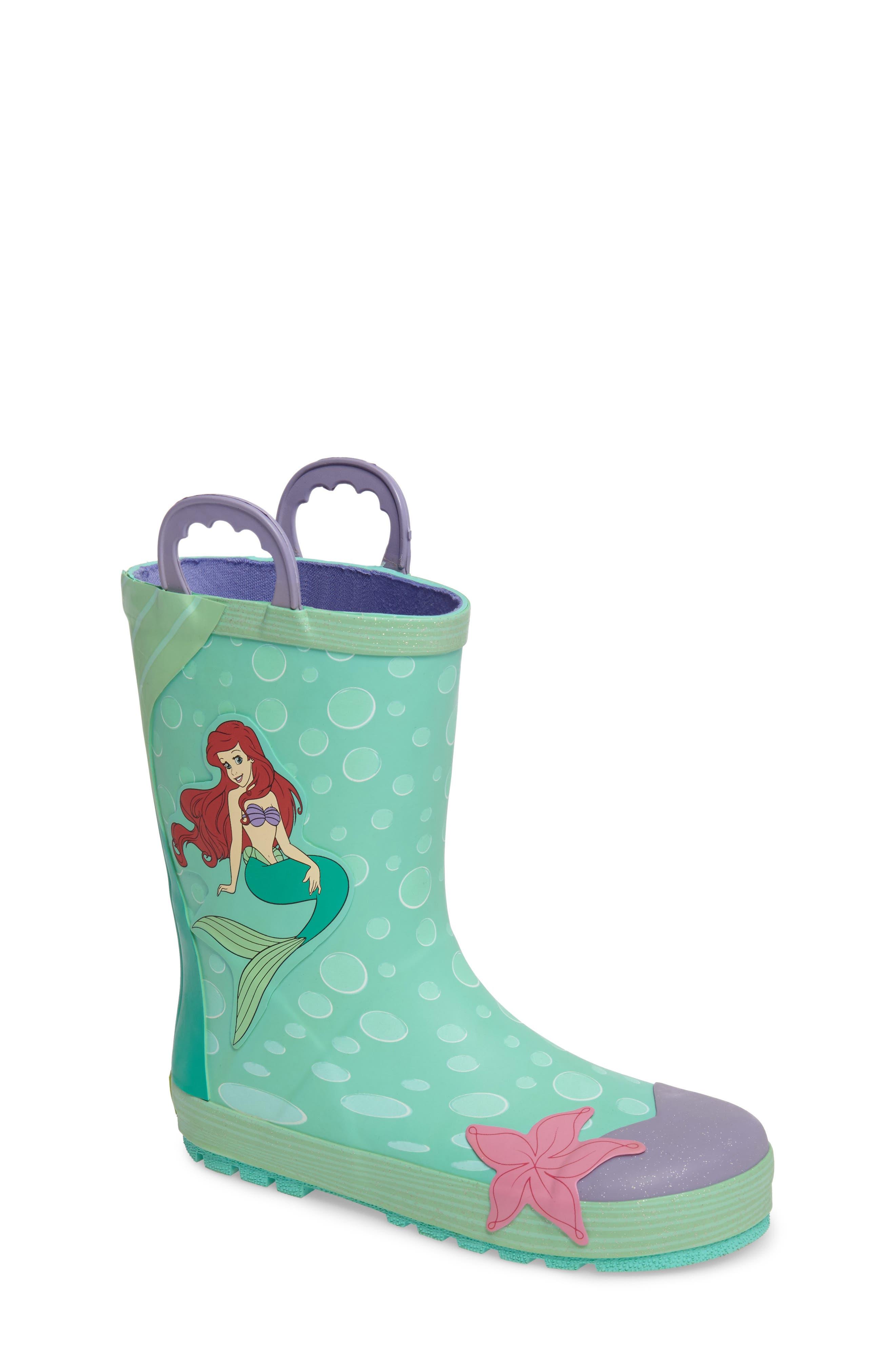 Ariel Rain Boot,                         Main,                         color, Aqua