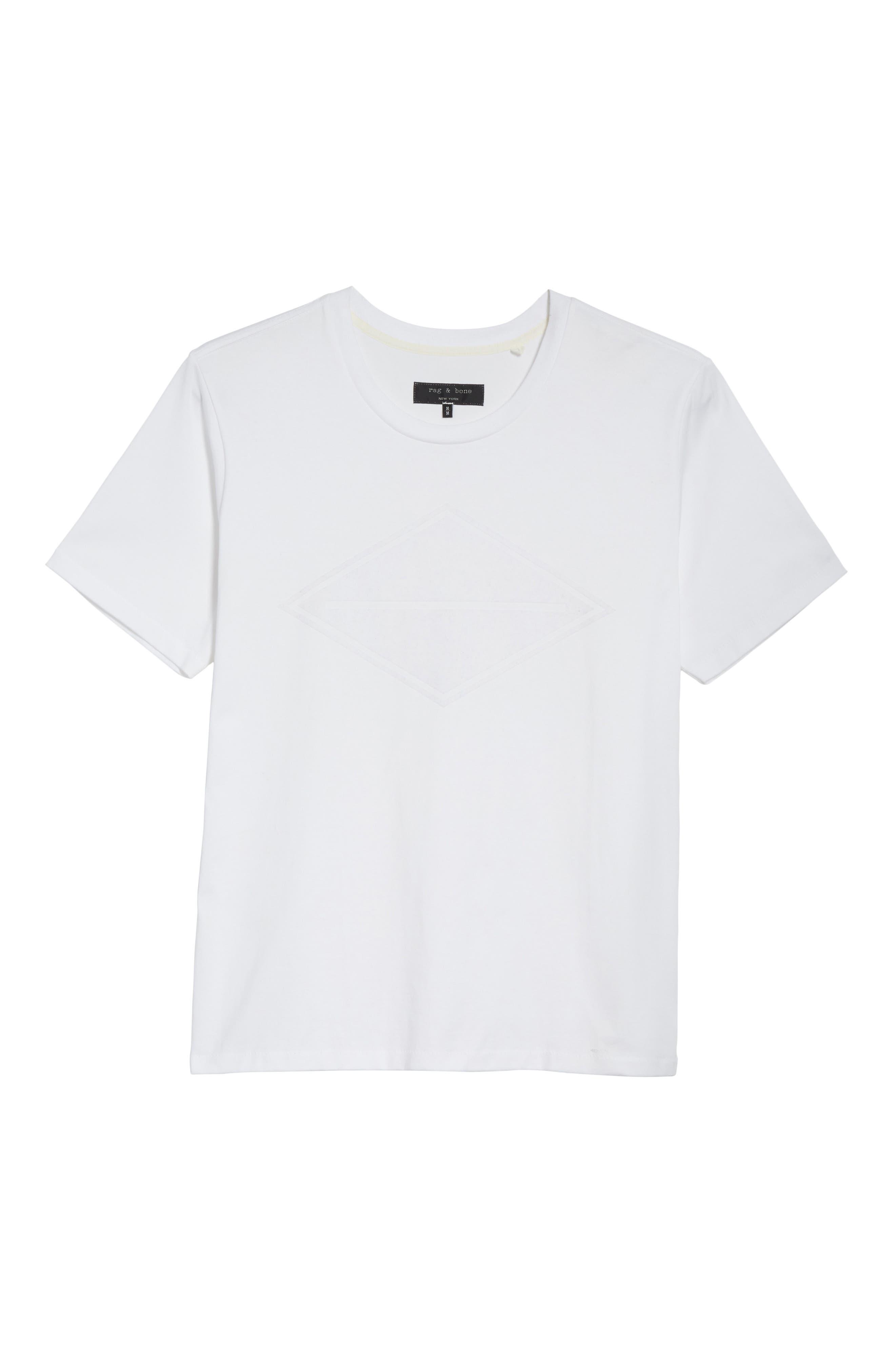 Alternate Image 6  - rag & bone Diamond T-Shirt