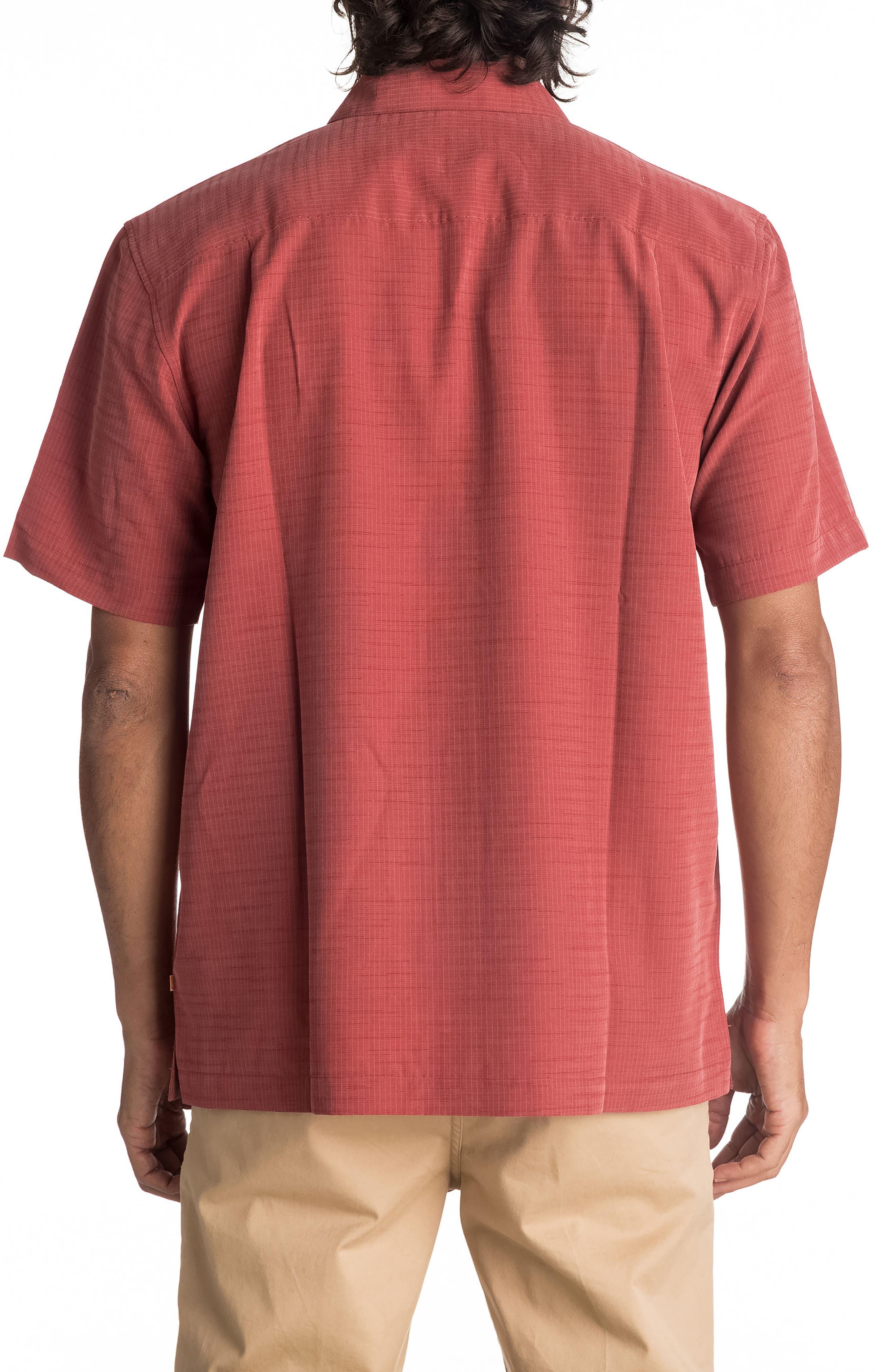 Alternate Image 2  - Quiksilver Waterman Collection 'Centinela 4' Short Sleeve Sport Shirt