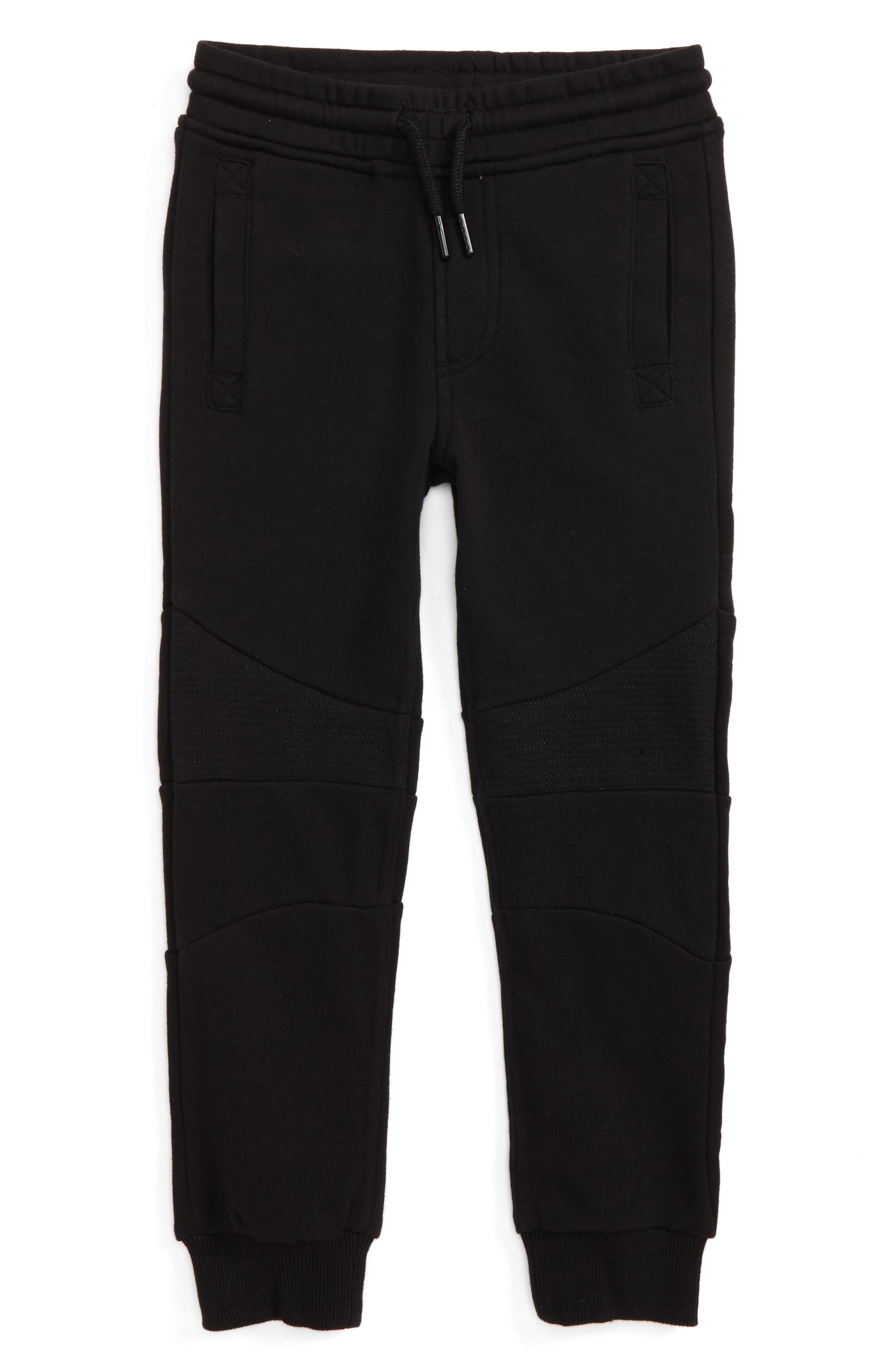 Julius Knit Jogger Pants,                             Main thumbnail 1, color,                             Black