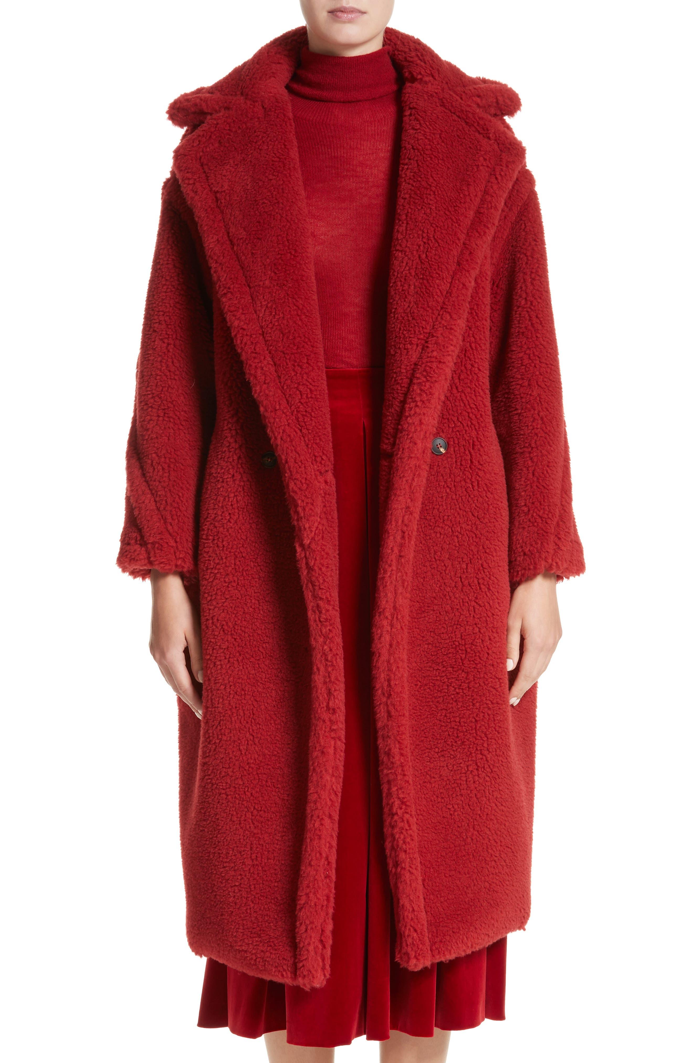 Main Image - Max Mara Pappino Camel Hair & Silk Coat