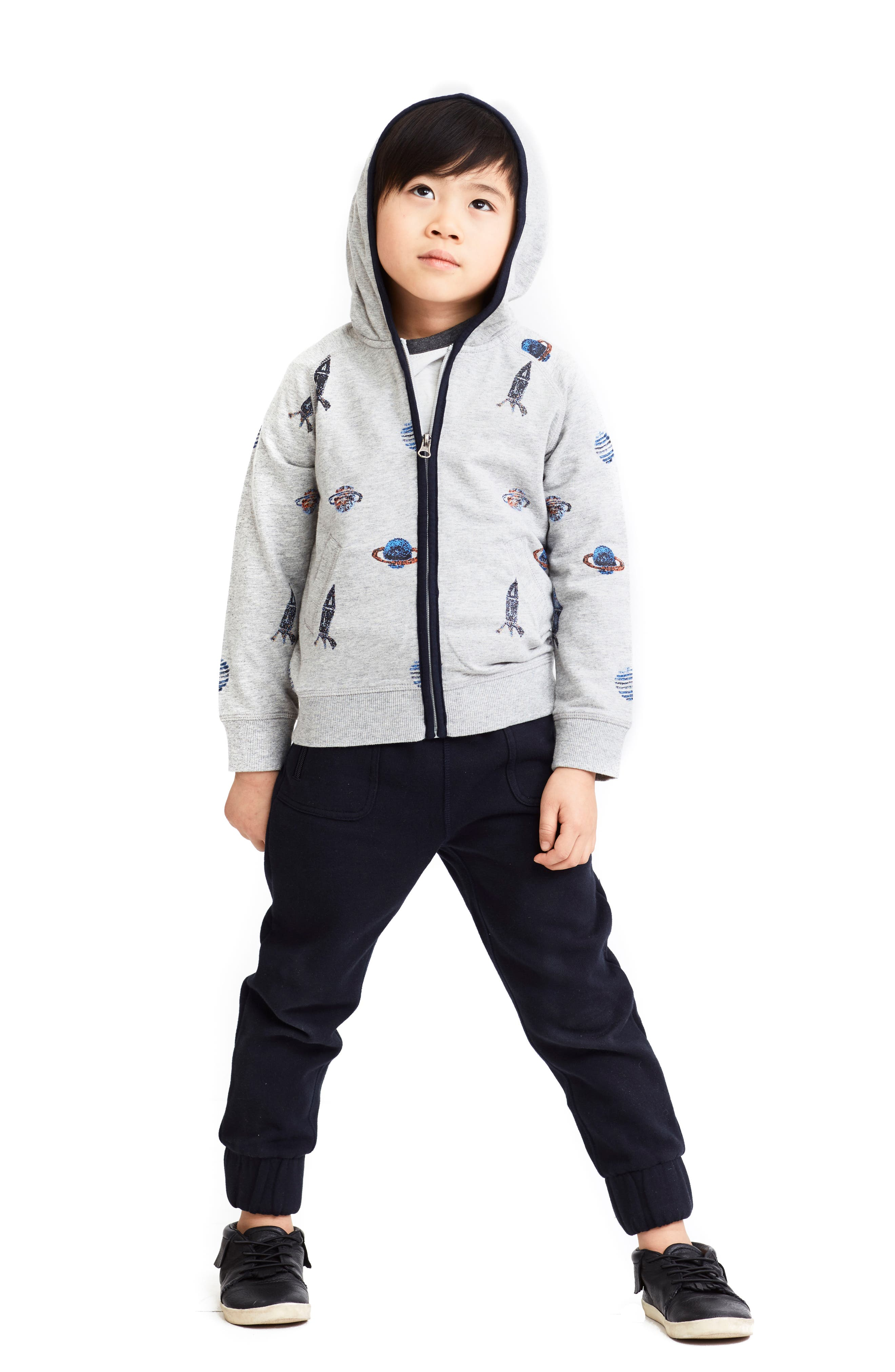 Alternate Image 2  - Art & Eden Mercer Jogger Pants (Toddler Boys, Little Boys & Big Boys)