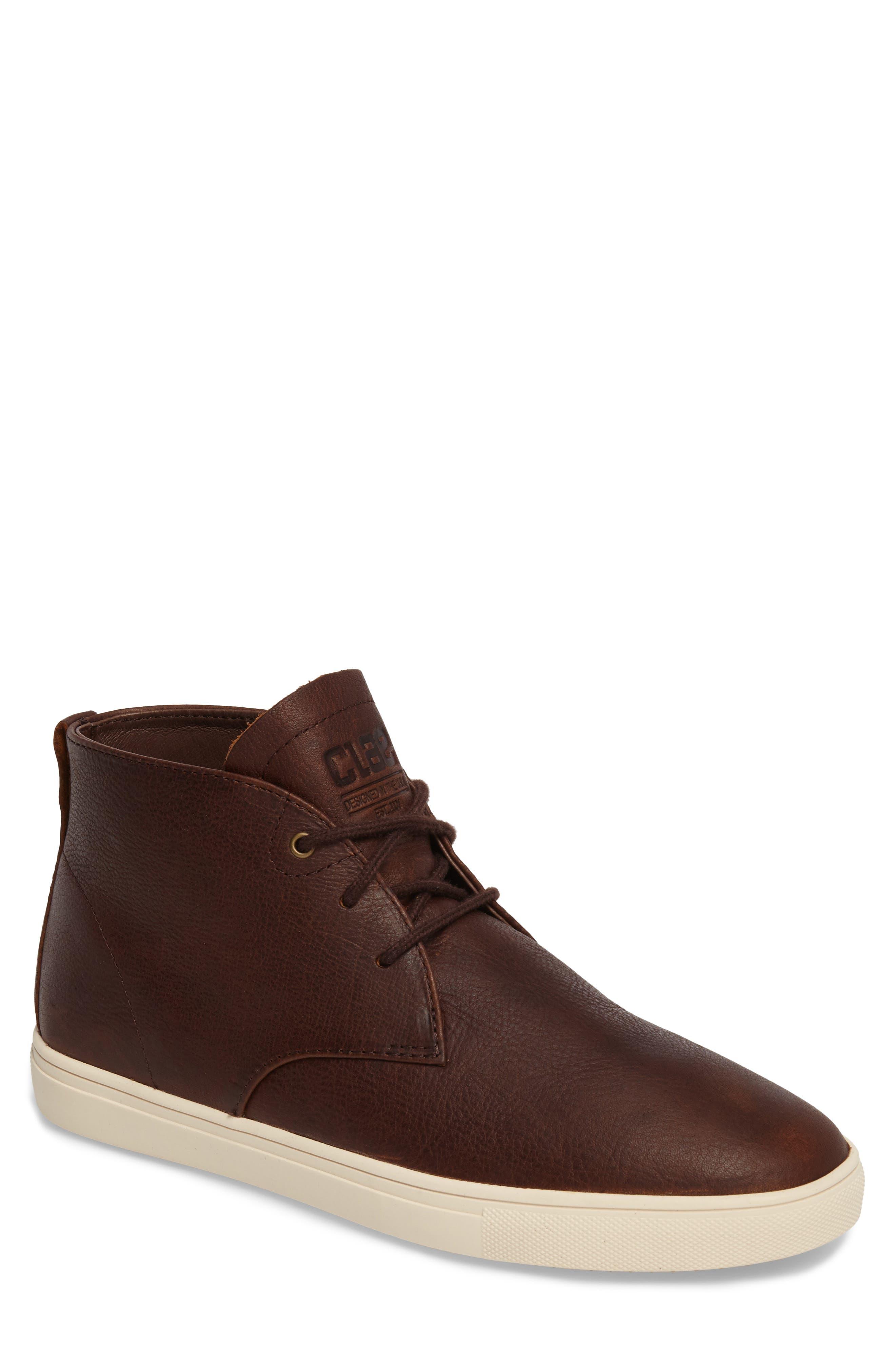 'Strayhorn SP' Chukka Boot,                             Main thumbnail 1, color,                             Cocoa Leather