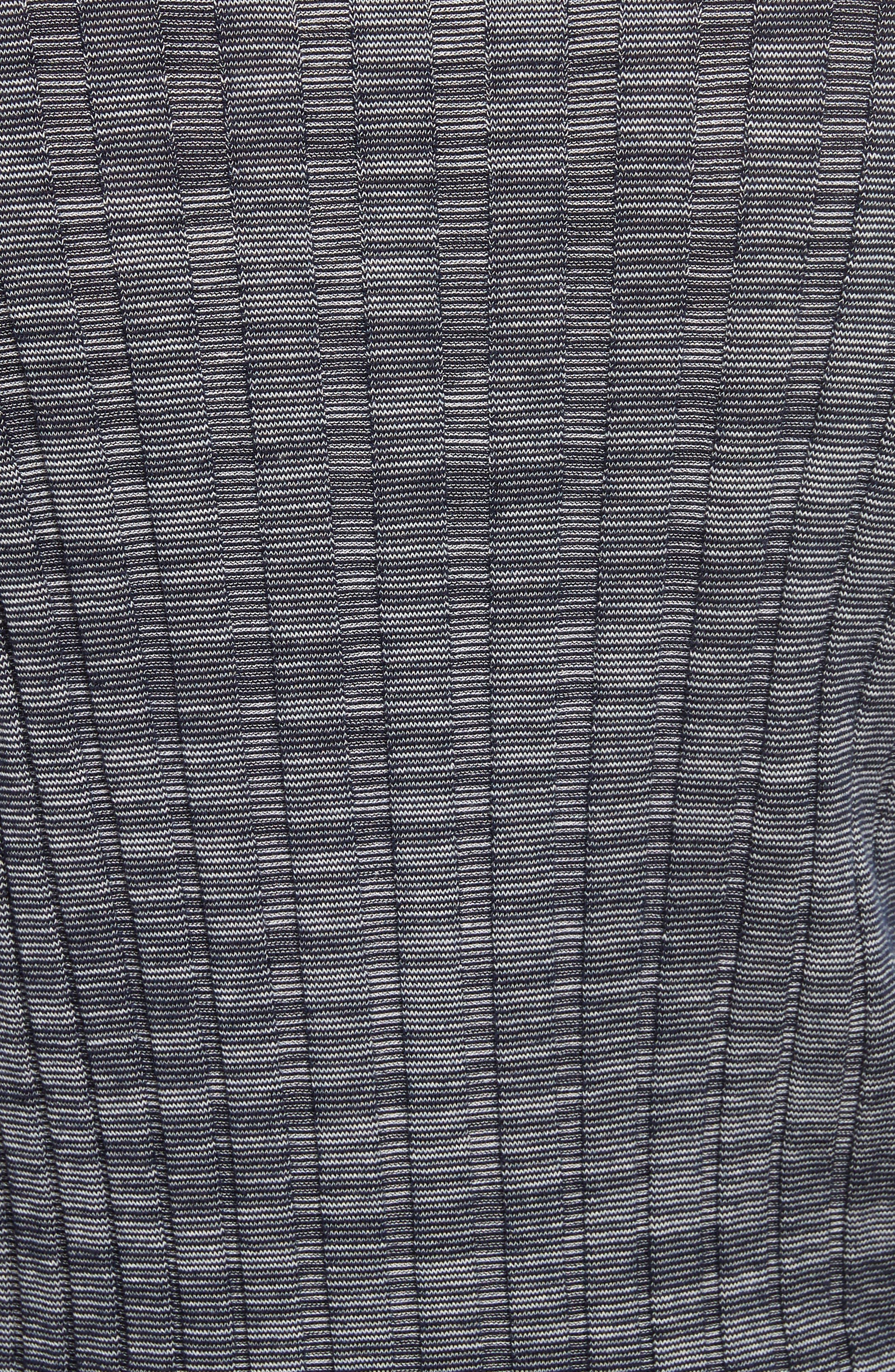Alternate Image 5  - Theory Wide Ribbed Metallic Merino Wool Sweater