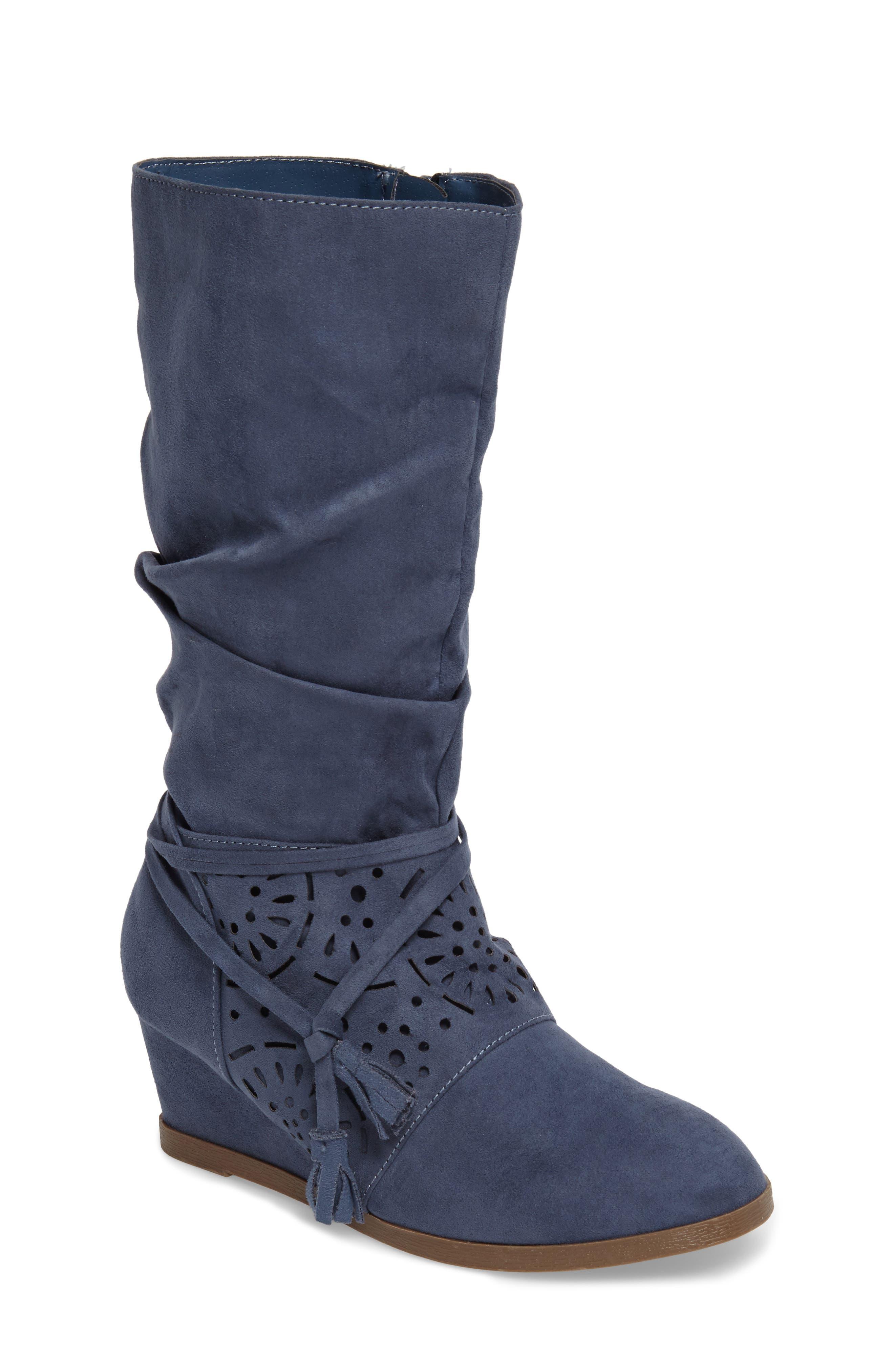 Jessica Simpson Monterey Slouchy Wedge Boot (Toddler, Little Kid & Big Kid)