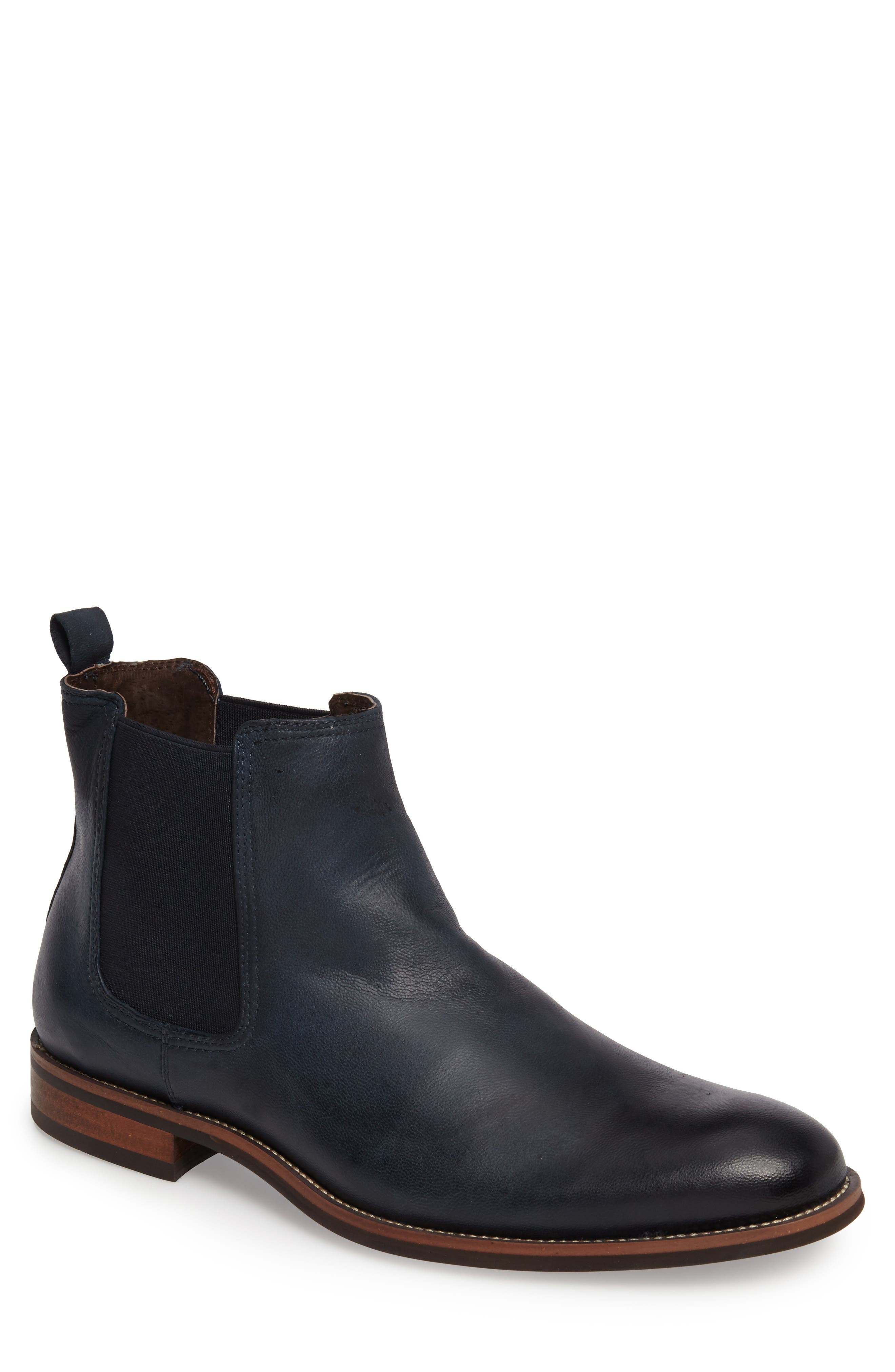 Lawson Chelsea Boot,                         Main,                         color, Navy