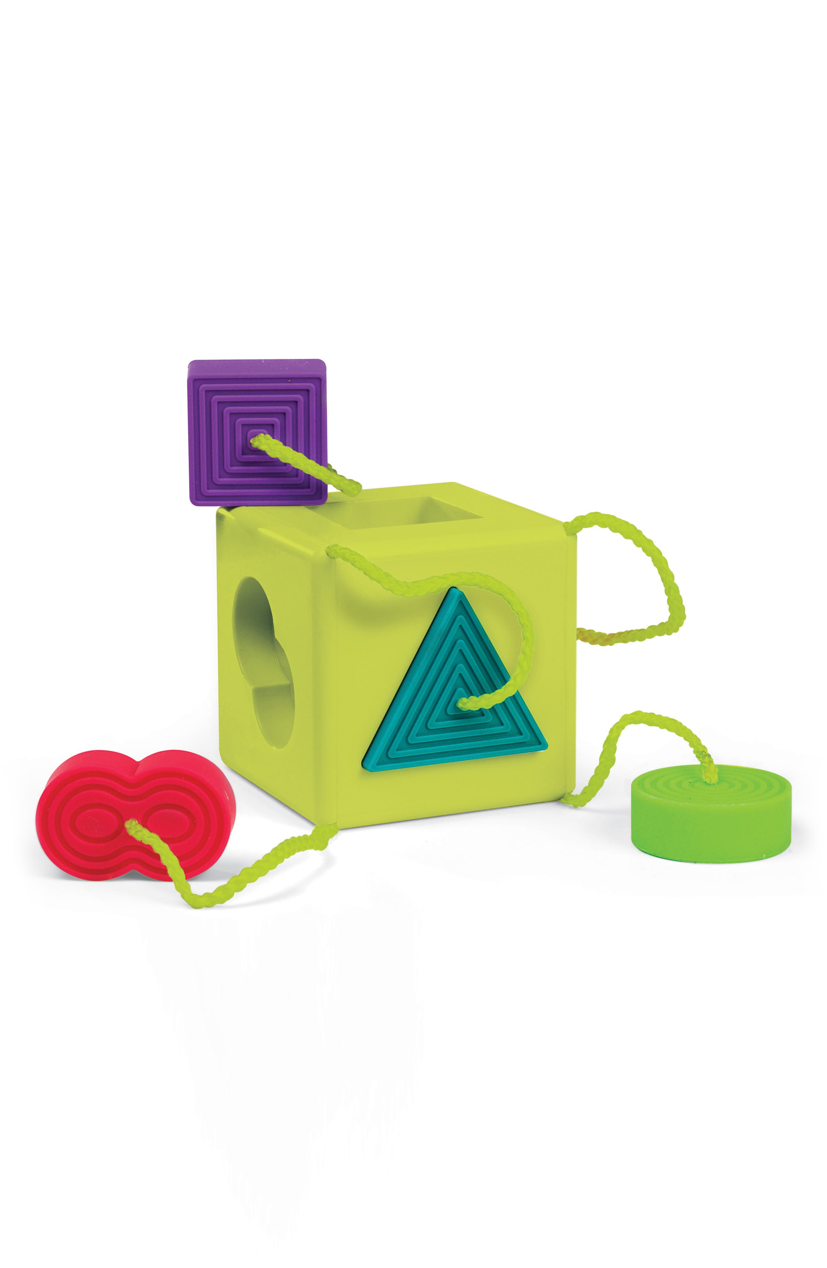 OombeeCube Sorting Toy,                         Main,                         color, Green