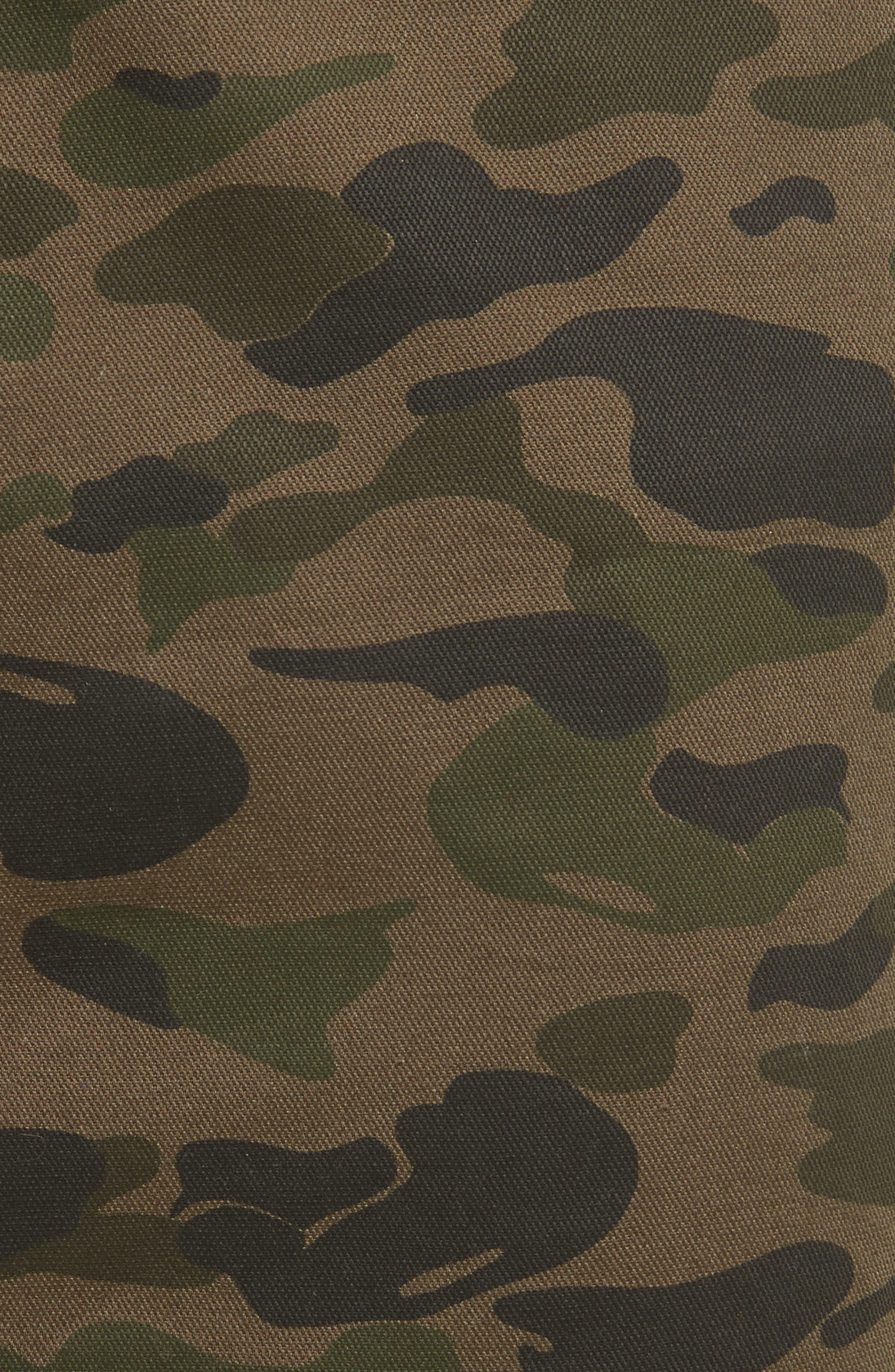 Dove Camo Miniskirt,                             Alternate thumbnail 5, color,                             Camouflage