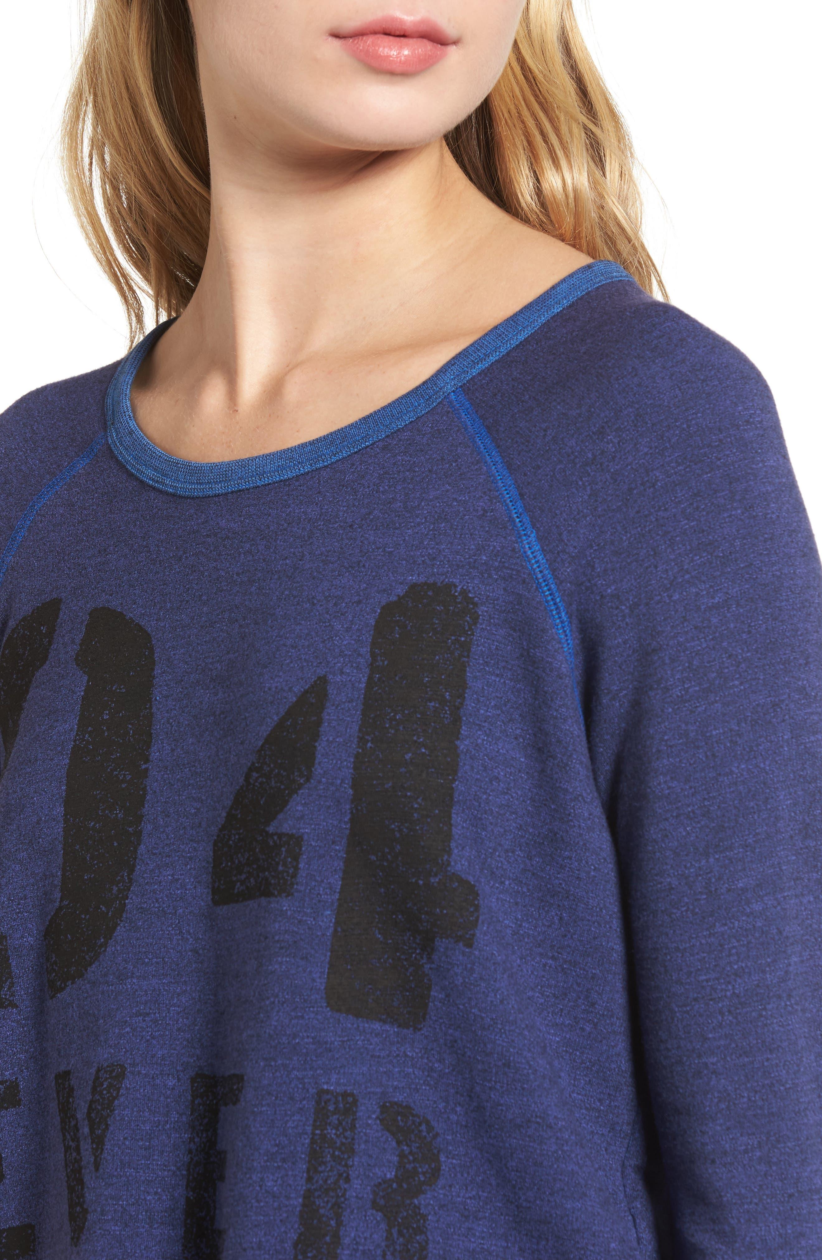 Alternate Image 4  - Sundry Love Forever Sweatshirt