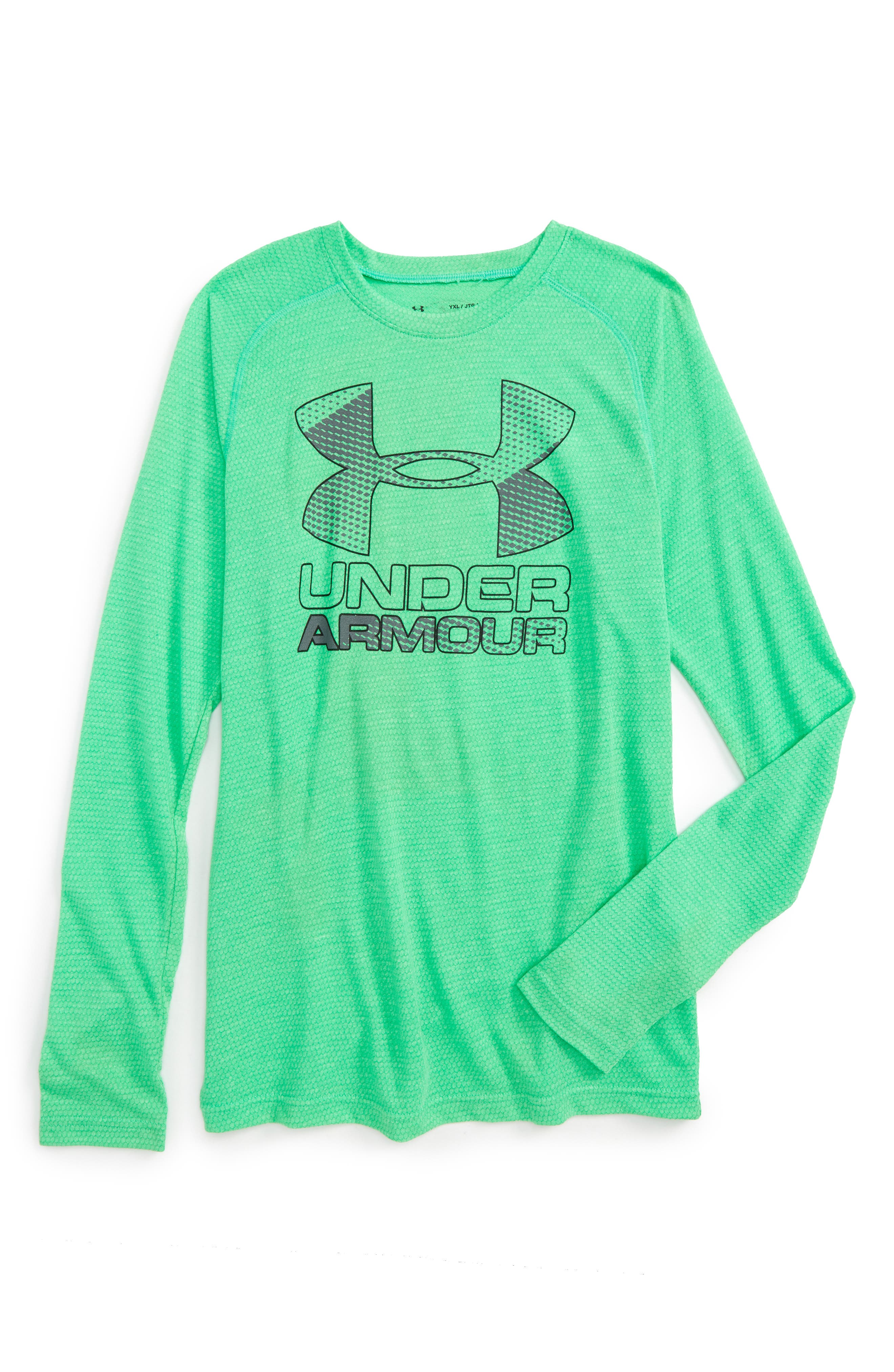 Under Armour Logo Graphic HeatGear® T-Shirt (Little Boys & Big Boys)