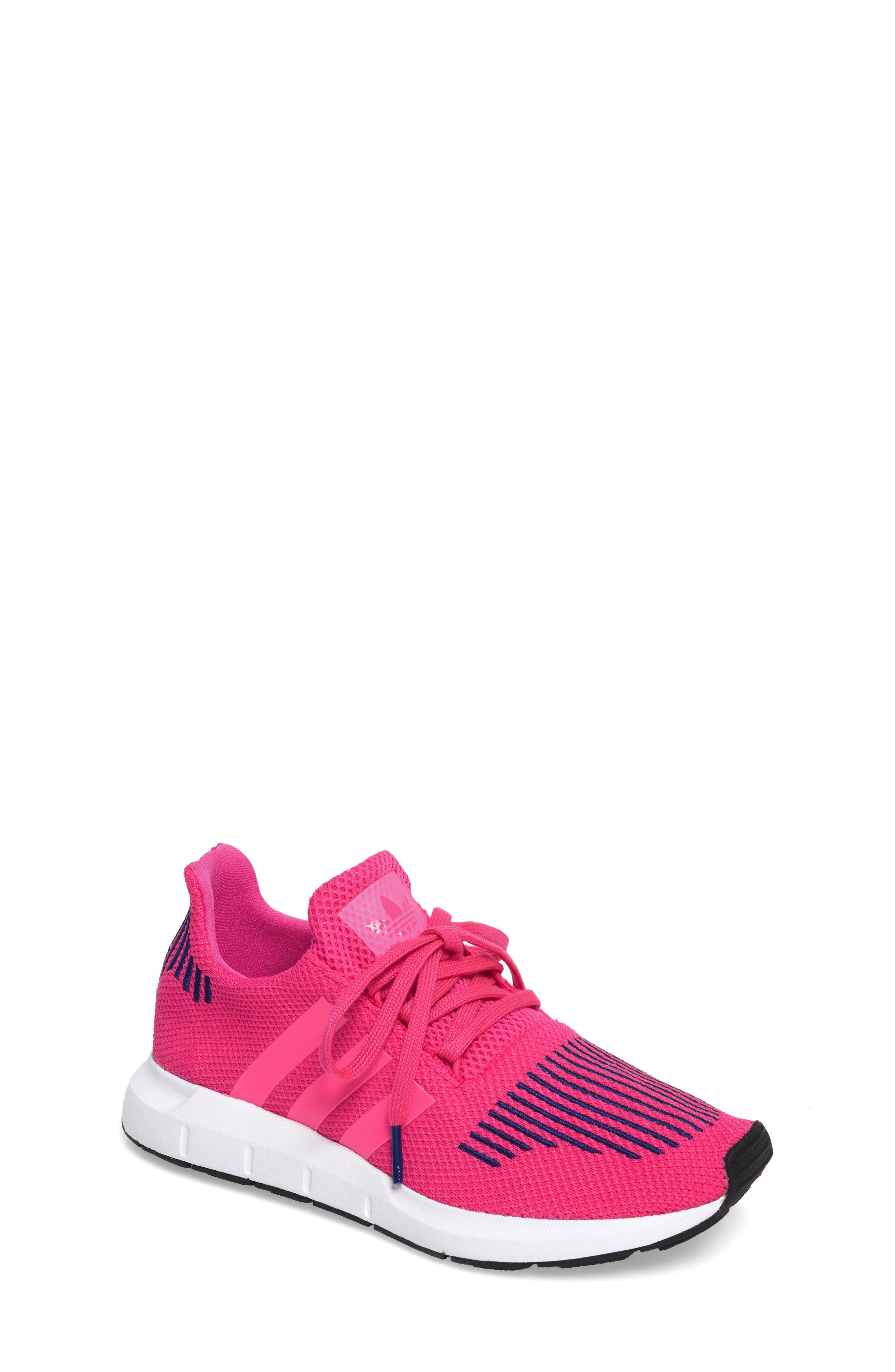 adidas Swift Run Sock Knit Sneaker (Big Kid)