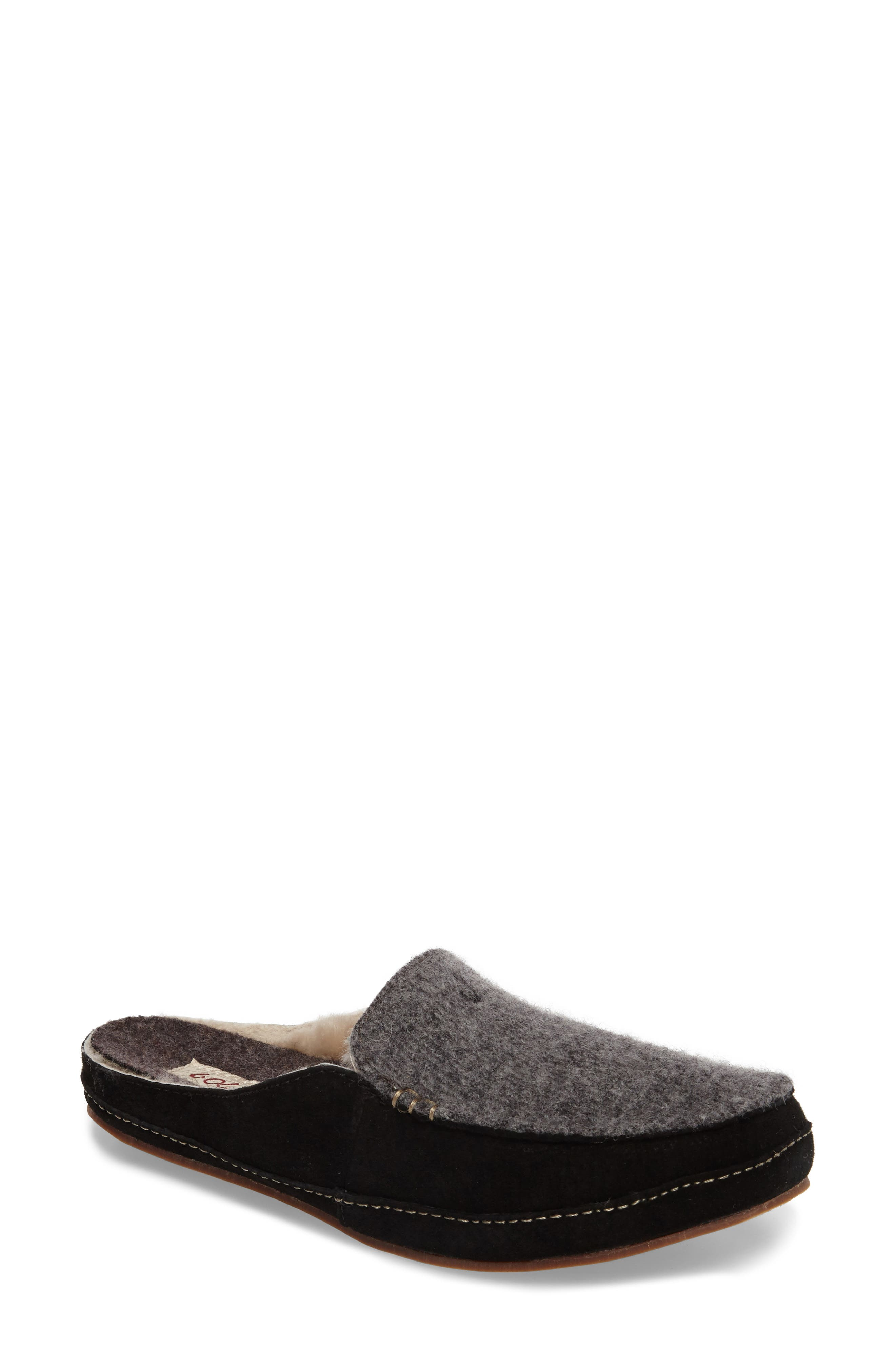 Olukai Women's Alaula Genuine Shearling Lined Slipper fU66MGIwSX