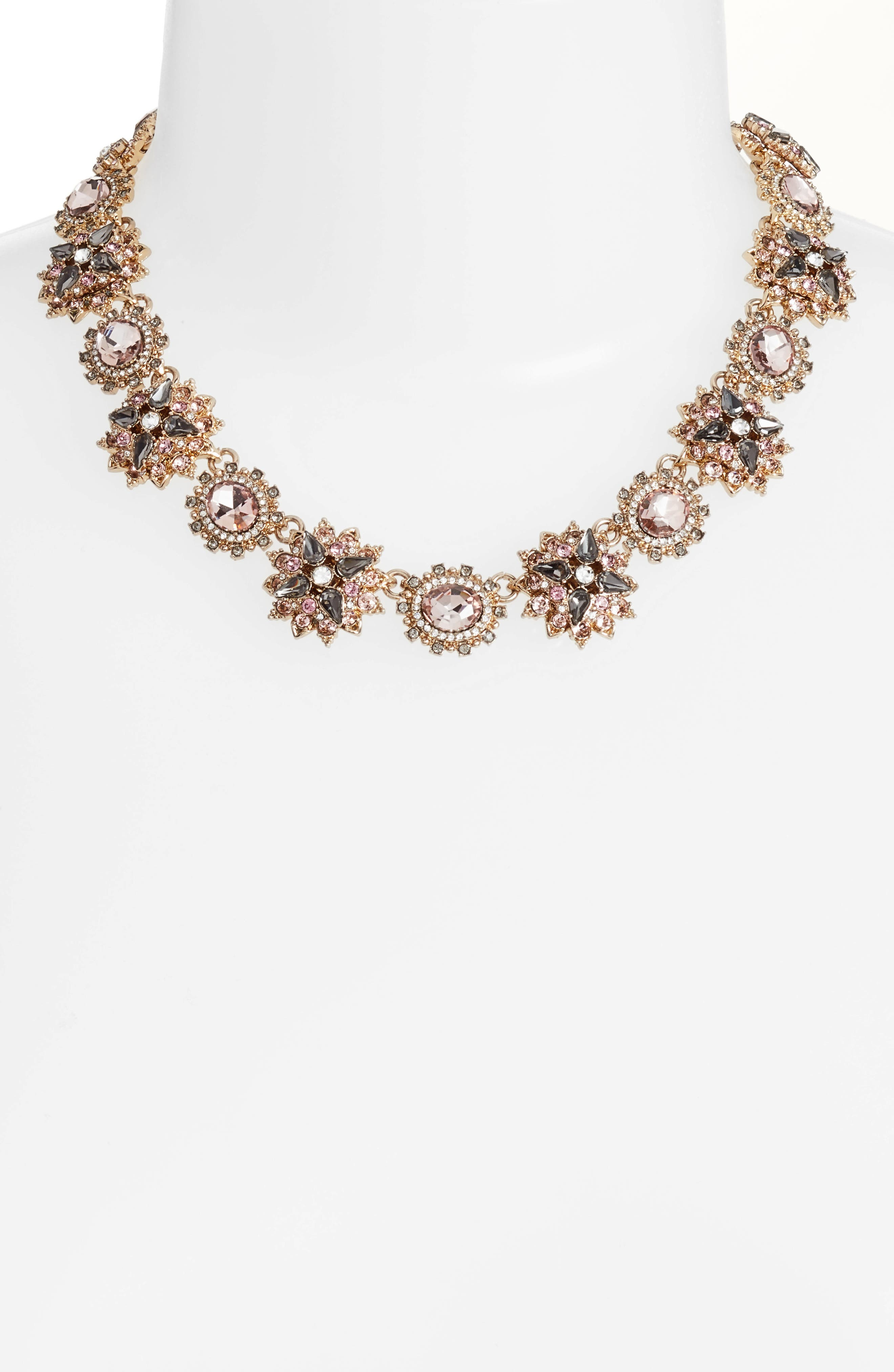 Alternate Image 2  - Marchesa Crystal Collar Necklace