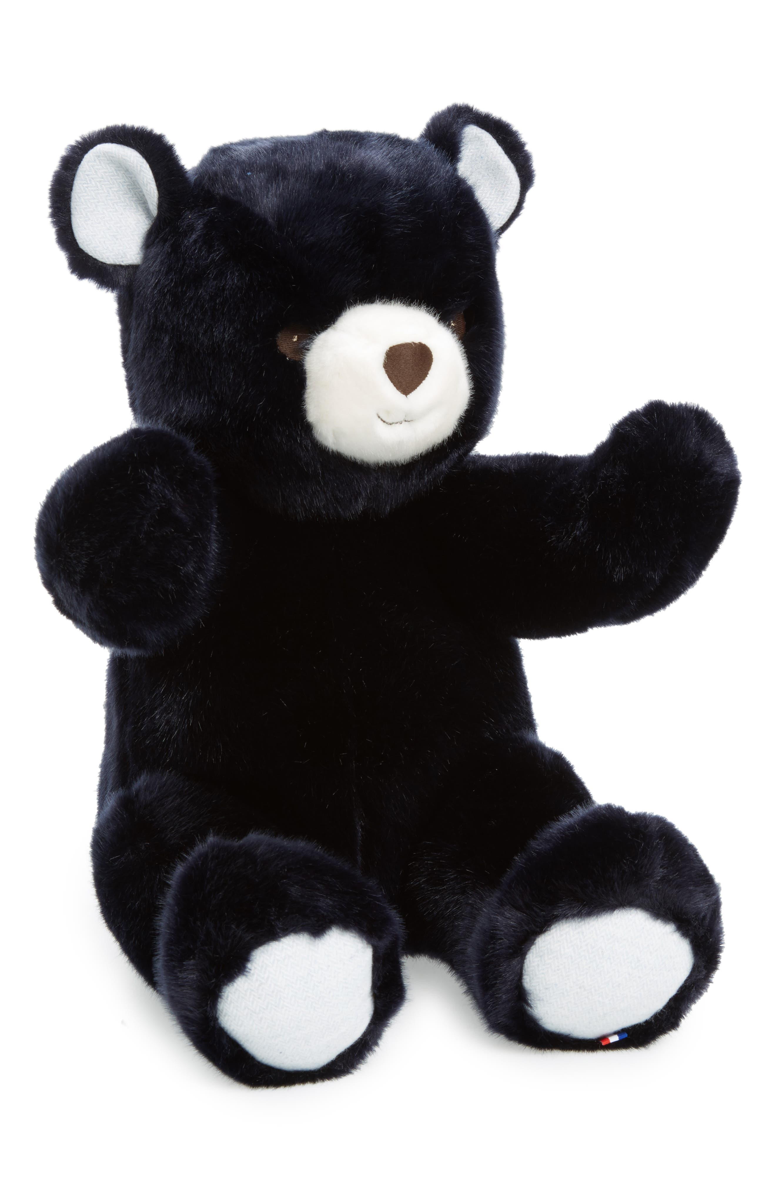 Robert the Bear Stuffed Animal,                             Main thumbnail 1, color,                             Navy