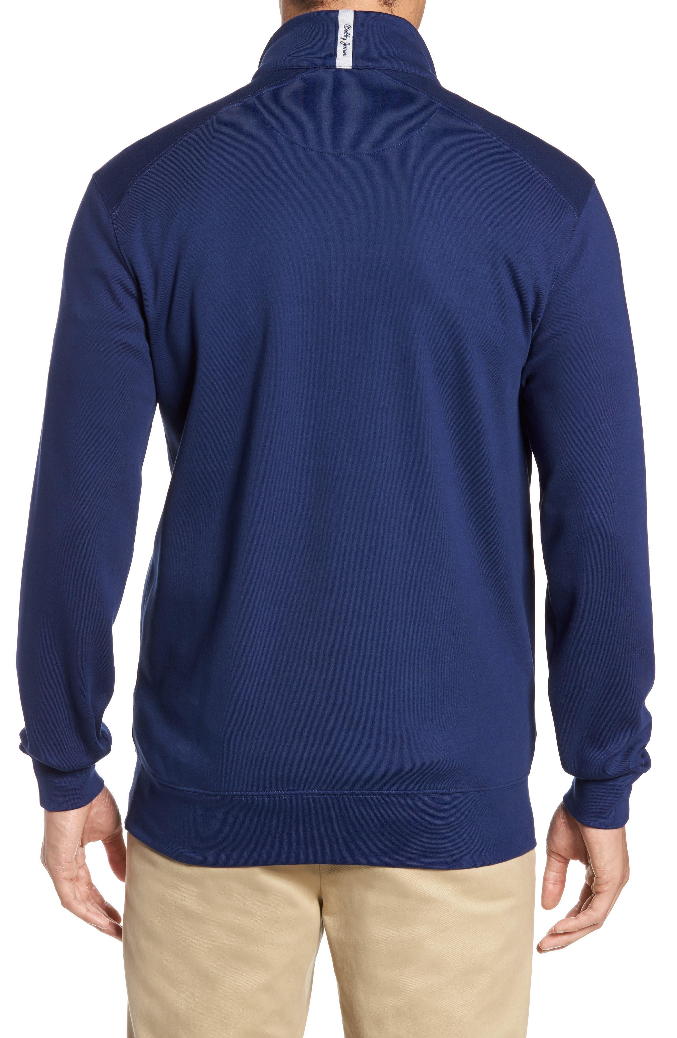 Alternate Image 2  - Bobby Jones 'New Leaderboard' Quarter Zip Pullover
