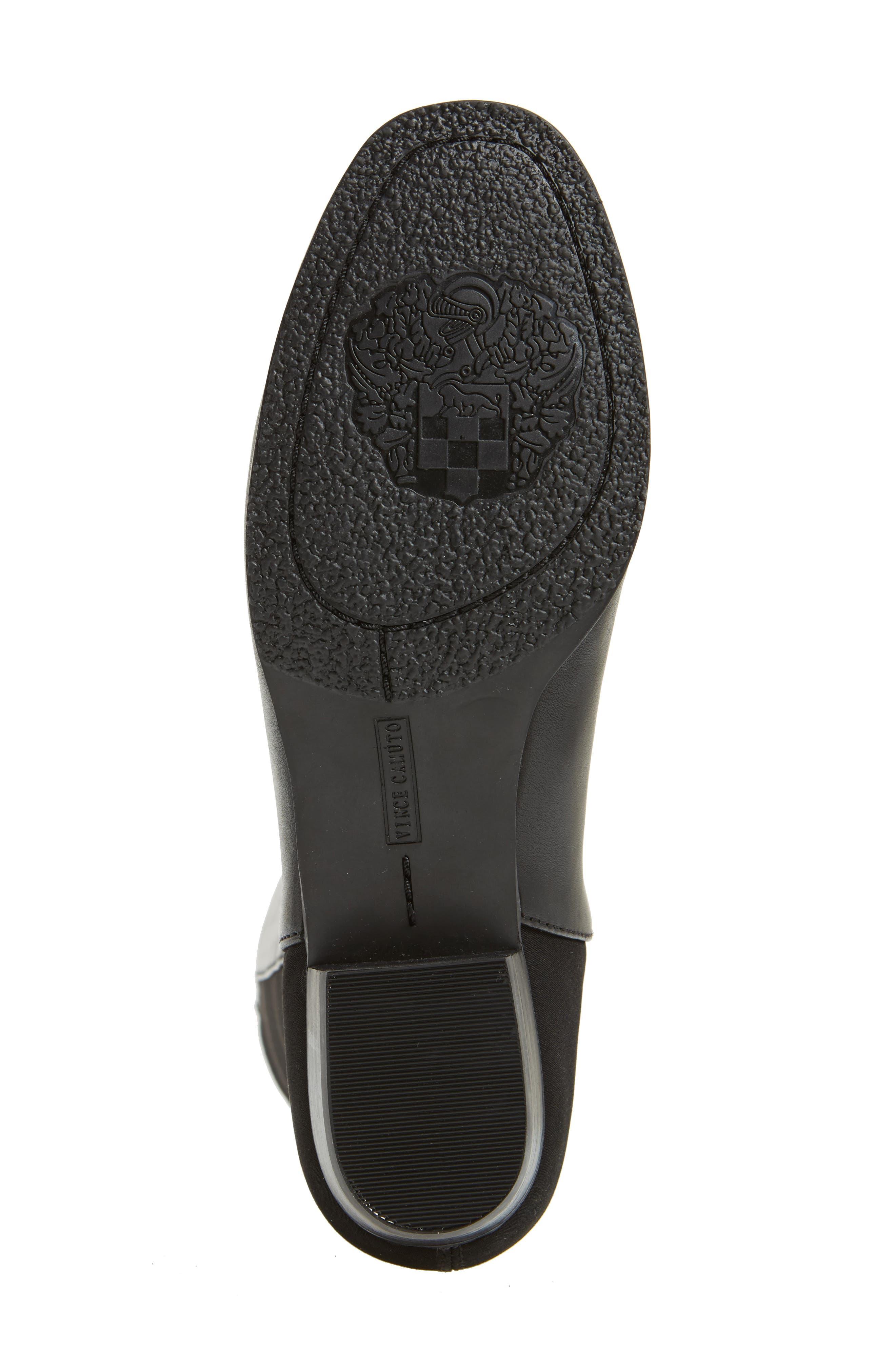'Karita' Over the Knee Boot,                             Alternate thumbnail 5, color,                             Black/ Black