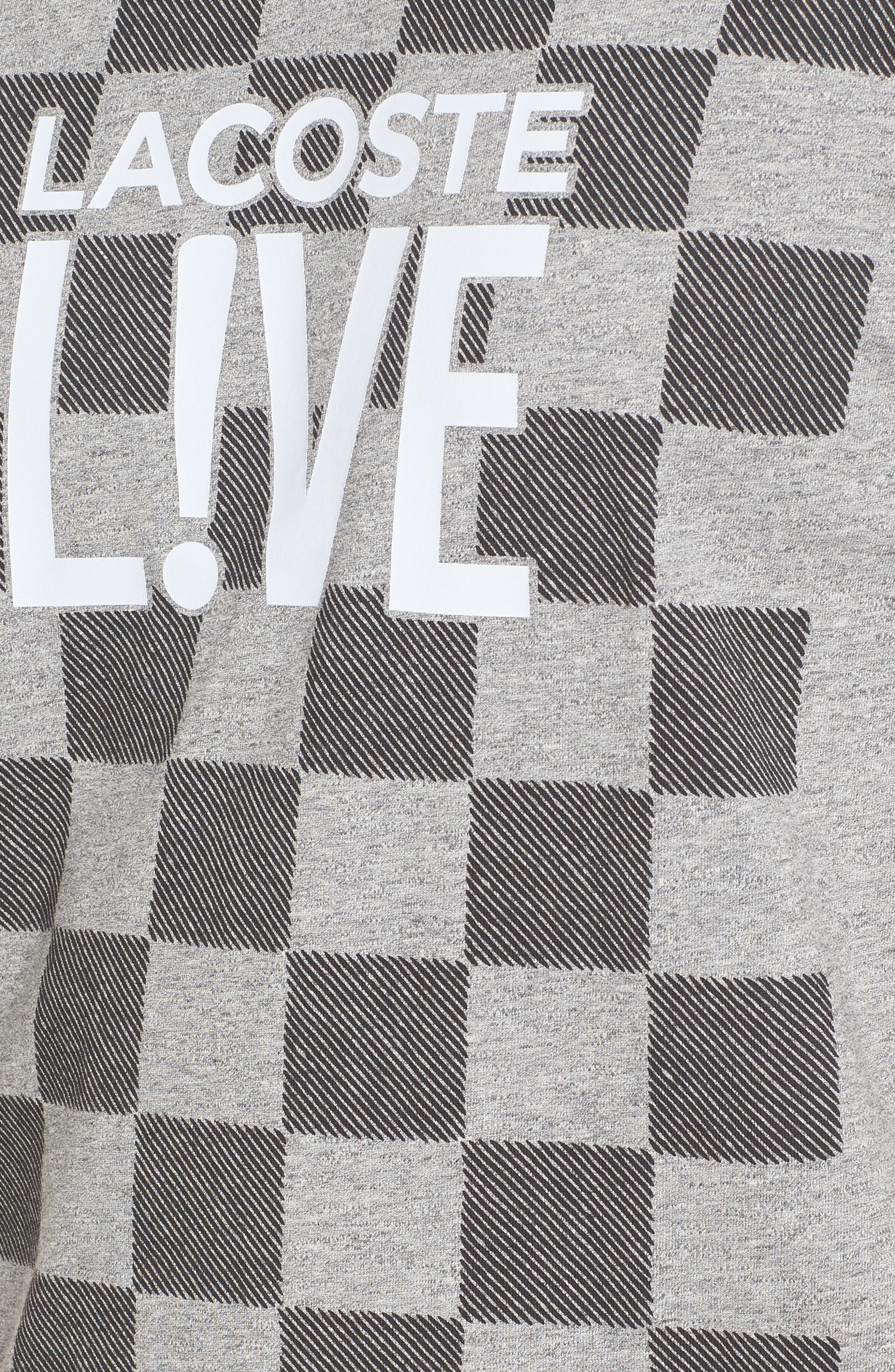Alternate Image 5  - Lacoste Check Graphic T-Shirt