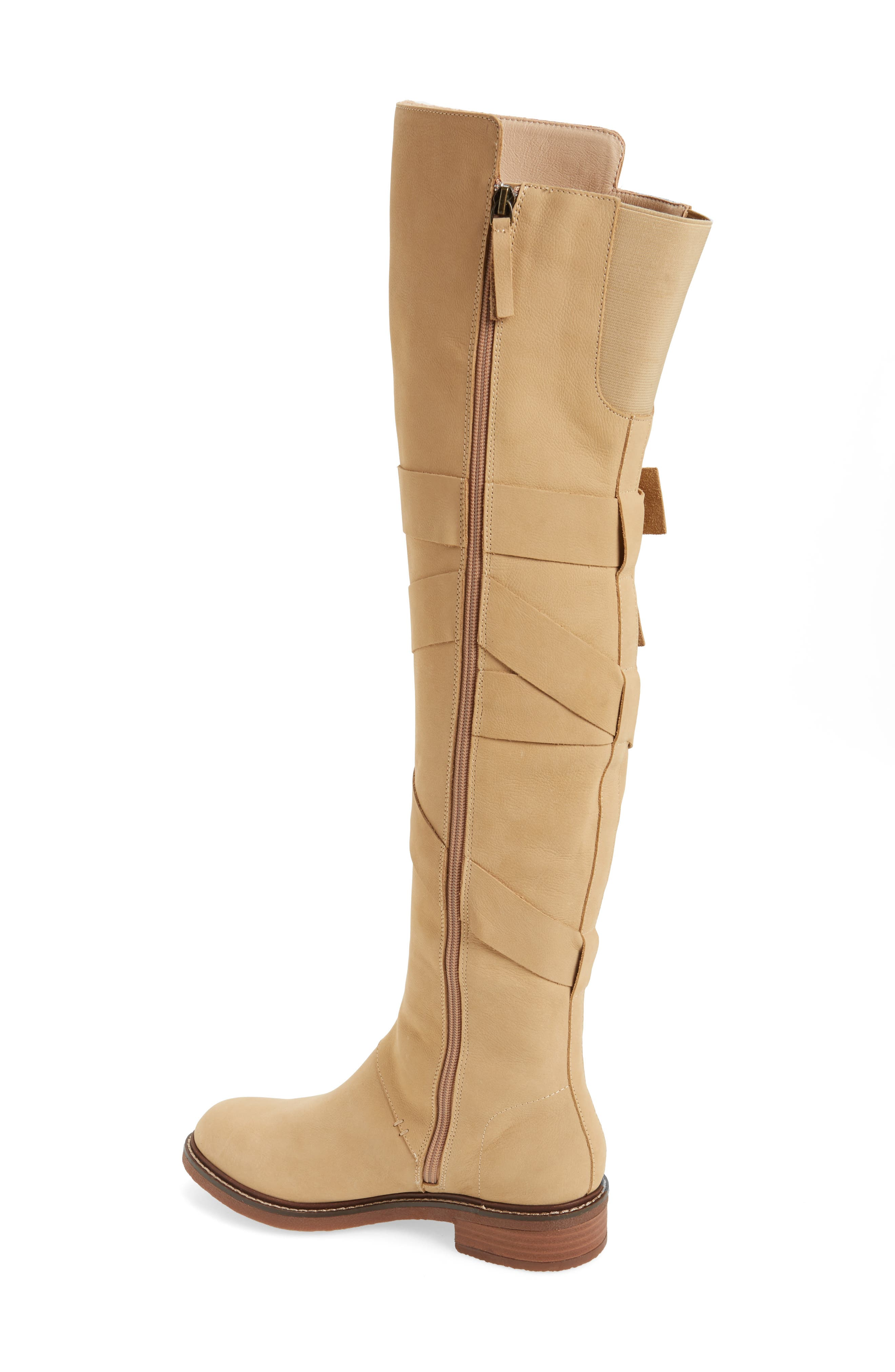 Colby Over the Knee Boot,                             Alternate thumbnail 2, color,                             Ginger