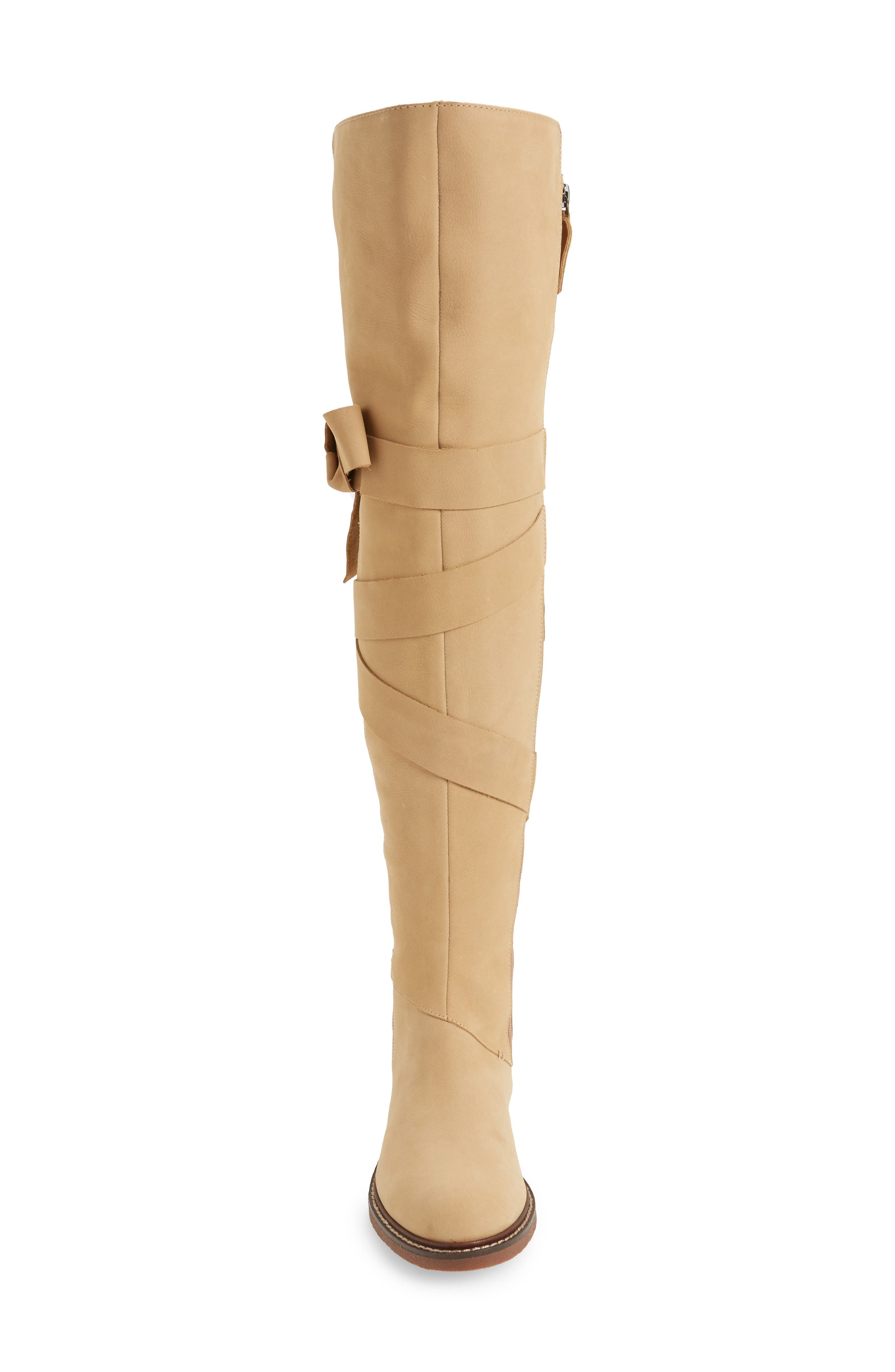 Colby Over the Knee Boot,                             Alternate thumbnail 4, color,                             Ginger