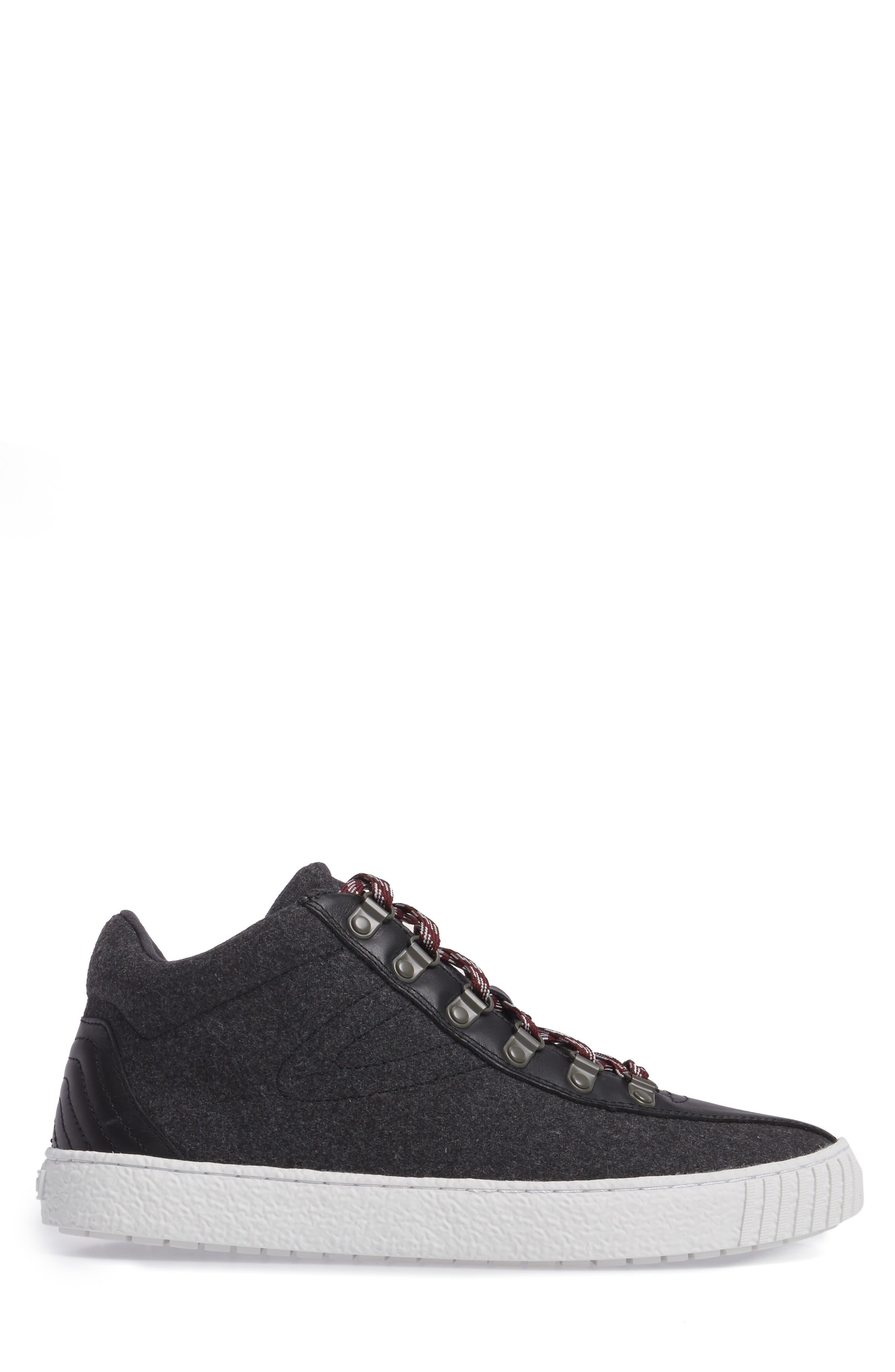 Dante Sneaker,                             Alternate thumbnail 3, color,                             Dark Grey/ Black