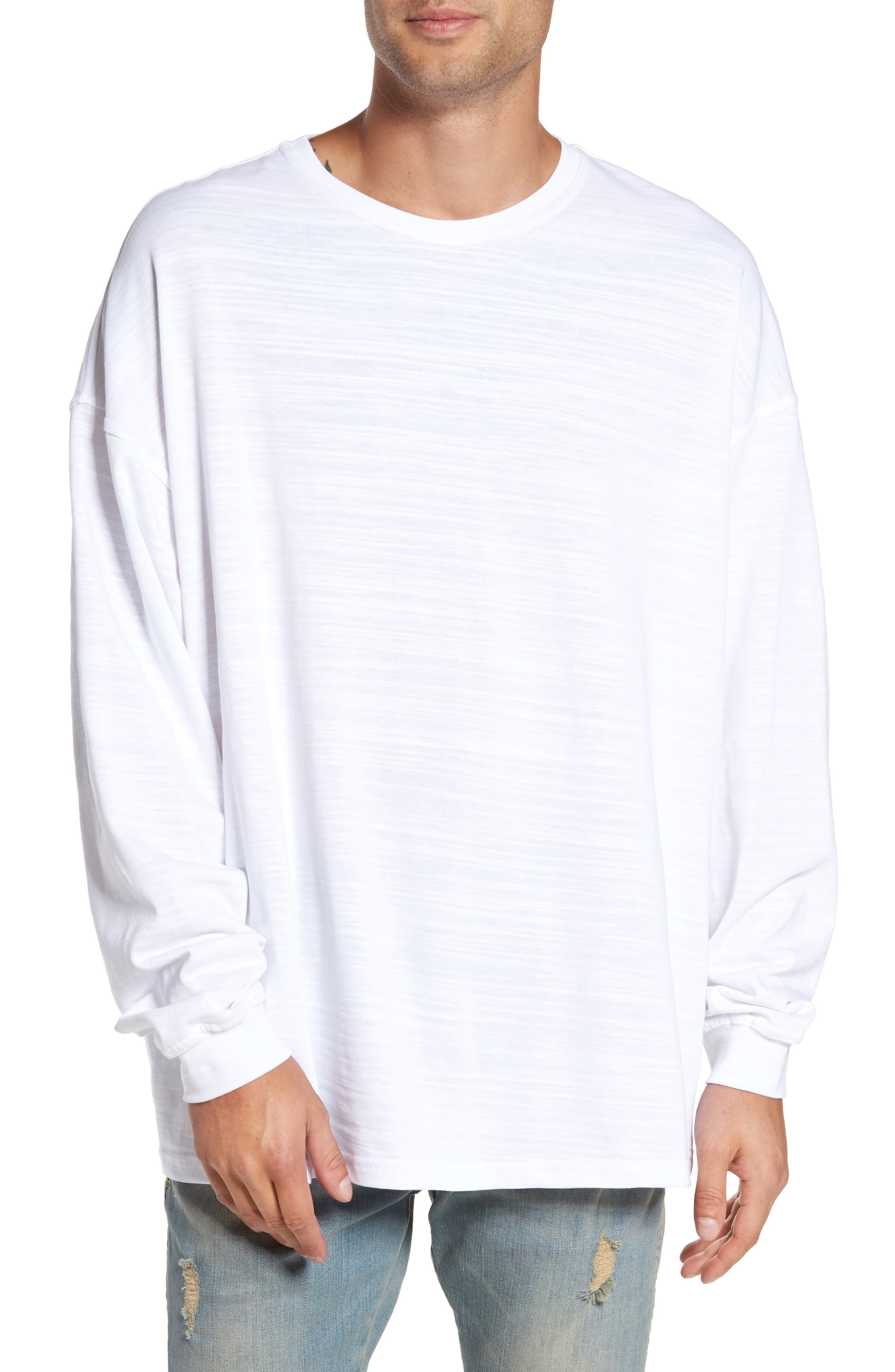 Represent Relaxed Fit Long Sleeve T-Shirt