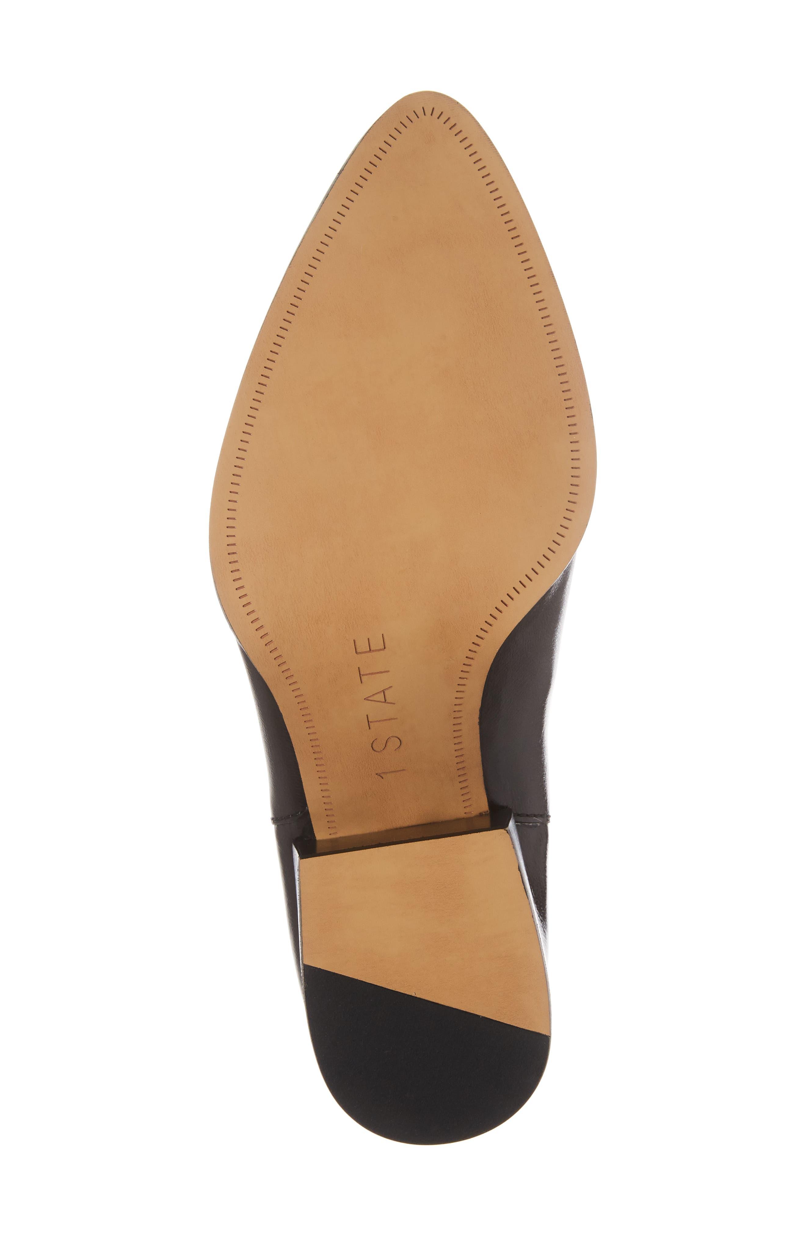 Jemore Boot,                             Alternate thumbnail 6, color,                             Black Leather