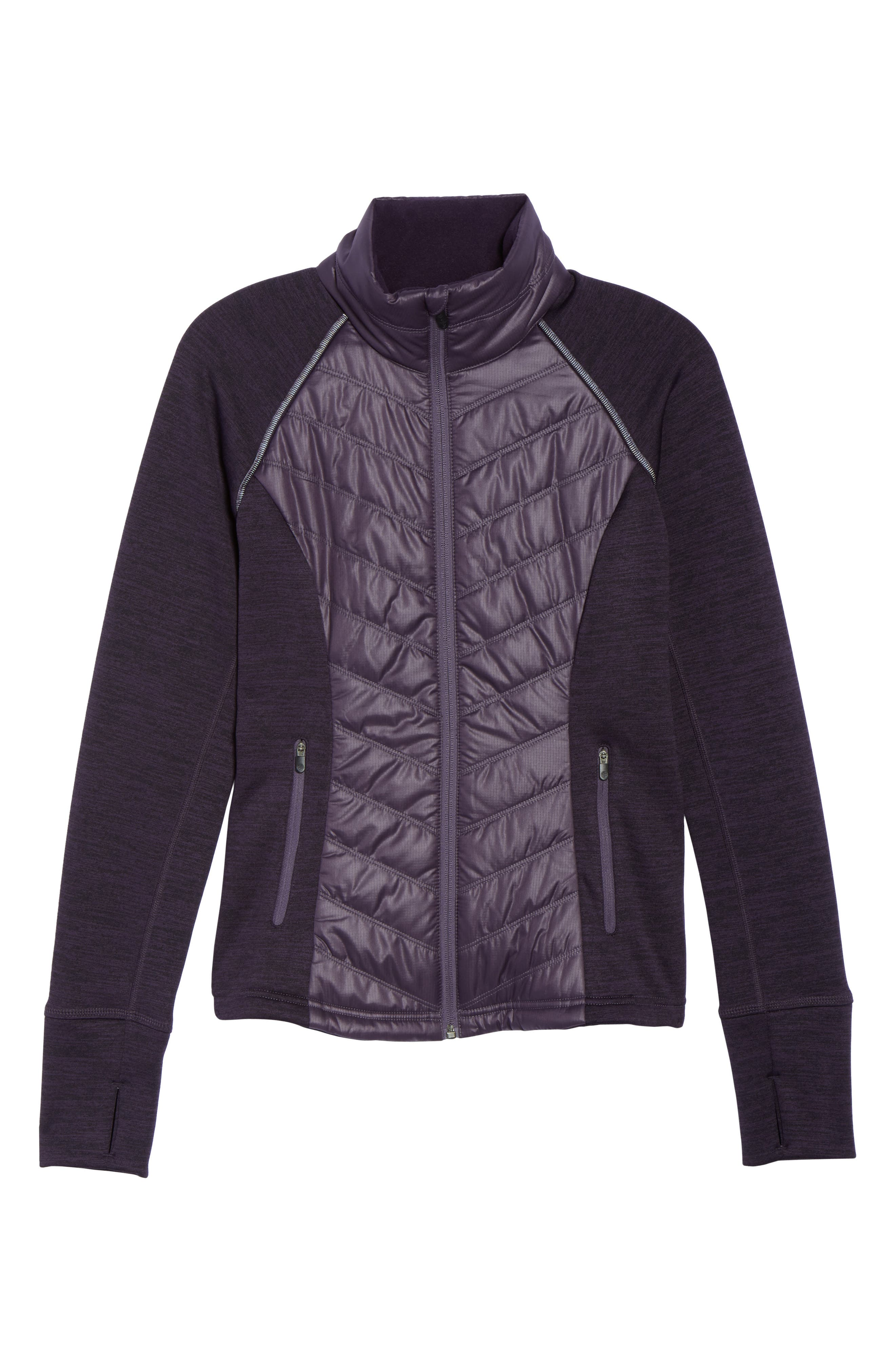 Alternate Image 7  - Zella Zelfusion Reflective Quilted Jacket