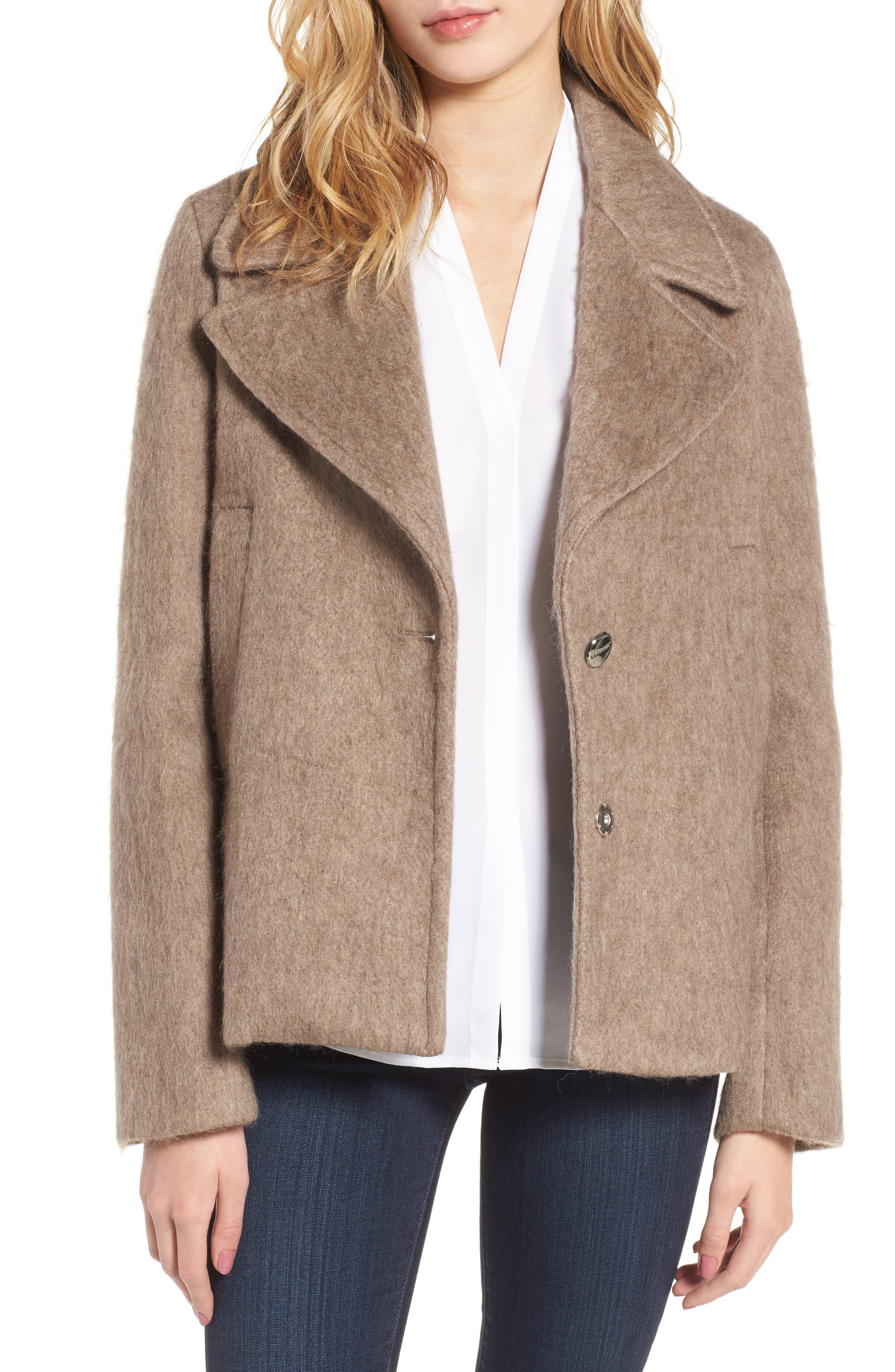 Laundry by Shelli Segal Plaid Swing Coat