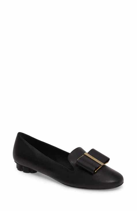 03e3e46f5bca7 Salvatore Ferragamo Sarno Bow Loafer (Women)