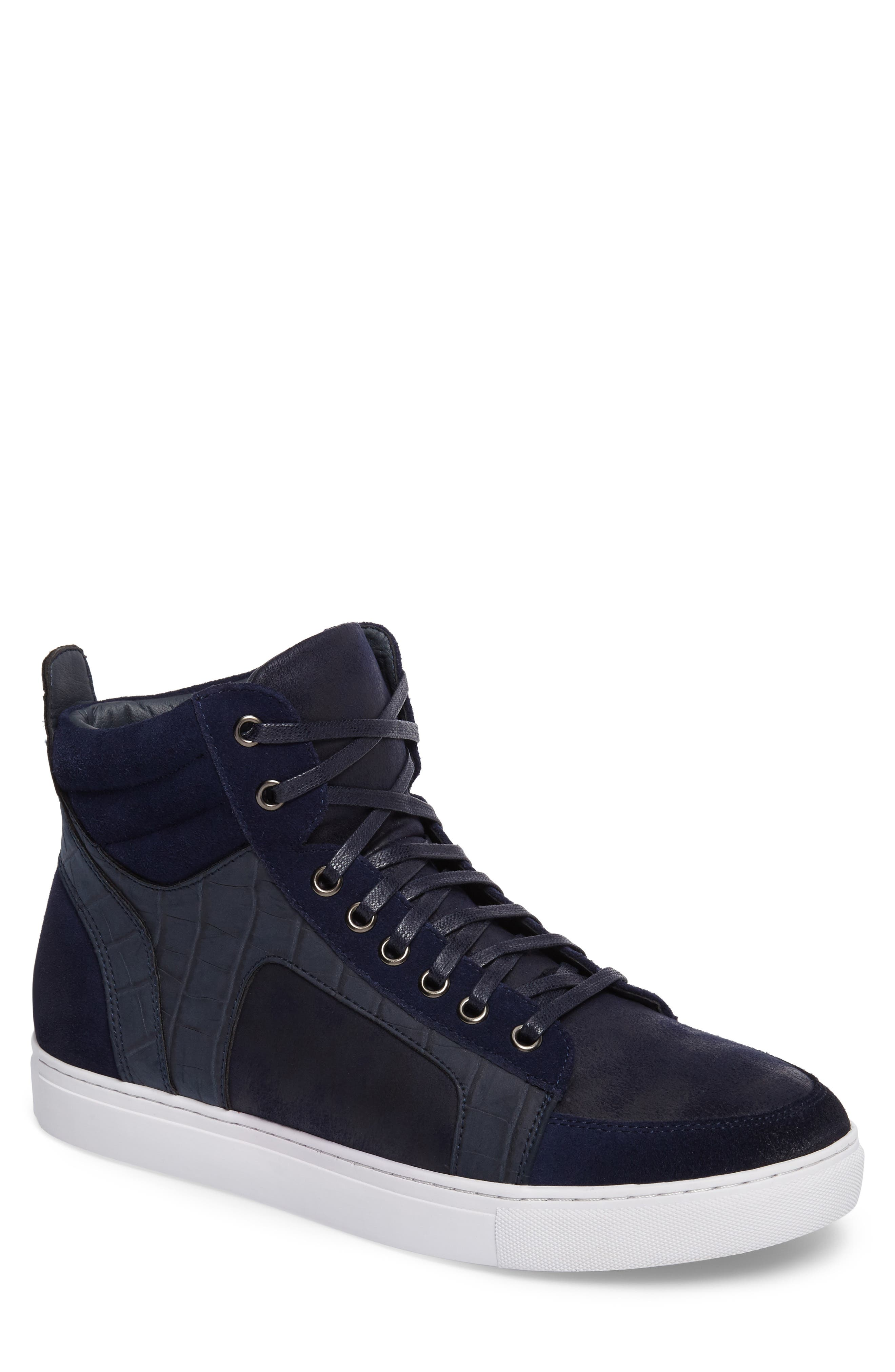 Makin Sneaker,                             Main thumbnail 1, color,                             Navy Suede