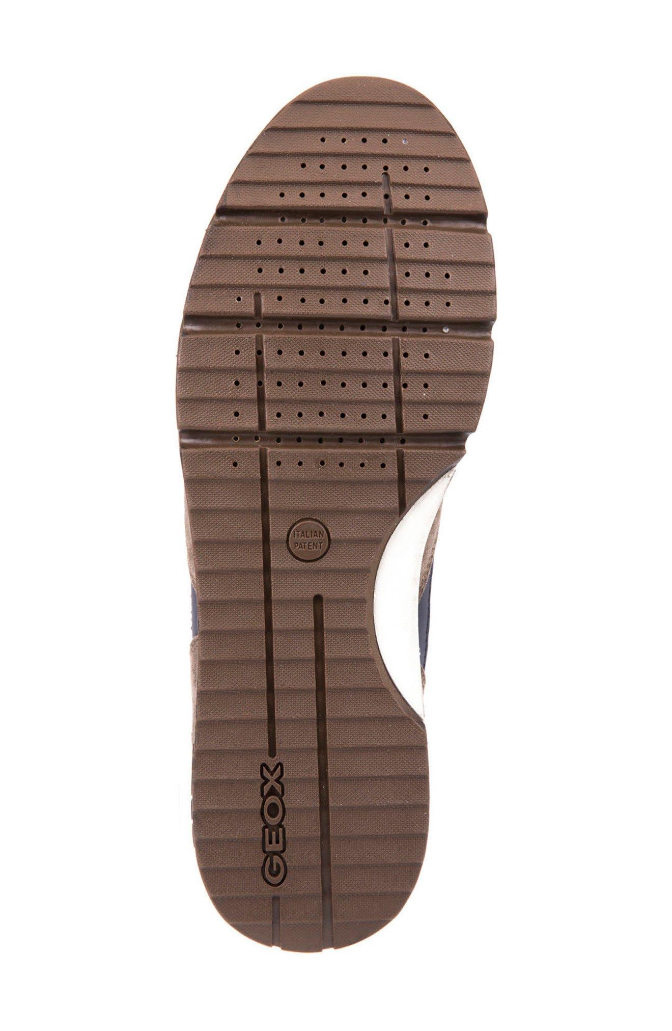 Sandro ABX Ambphibiox Waterproof Sneaker,                             Alternate thumbnail 6, color,                             Taupe