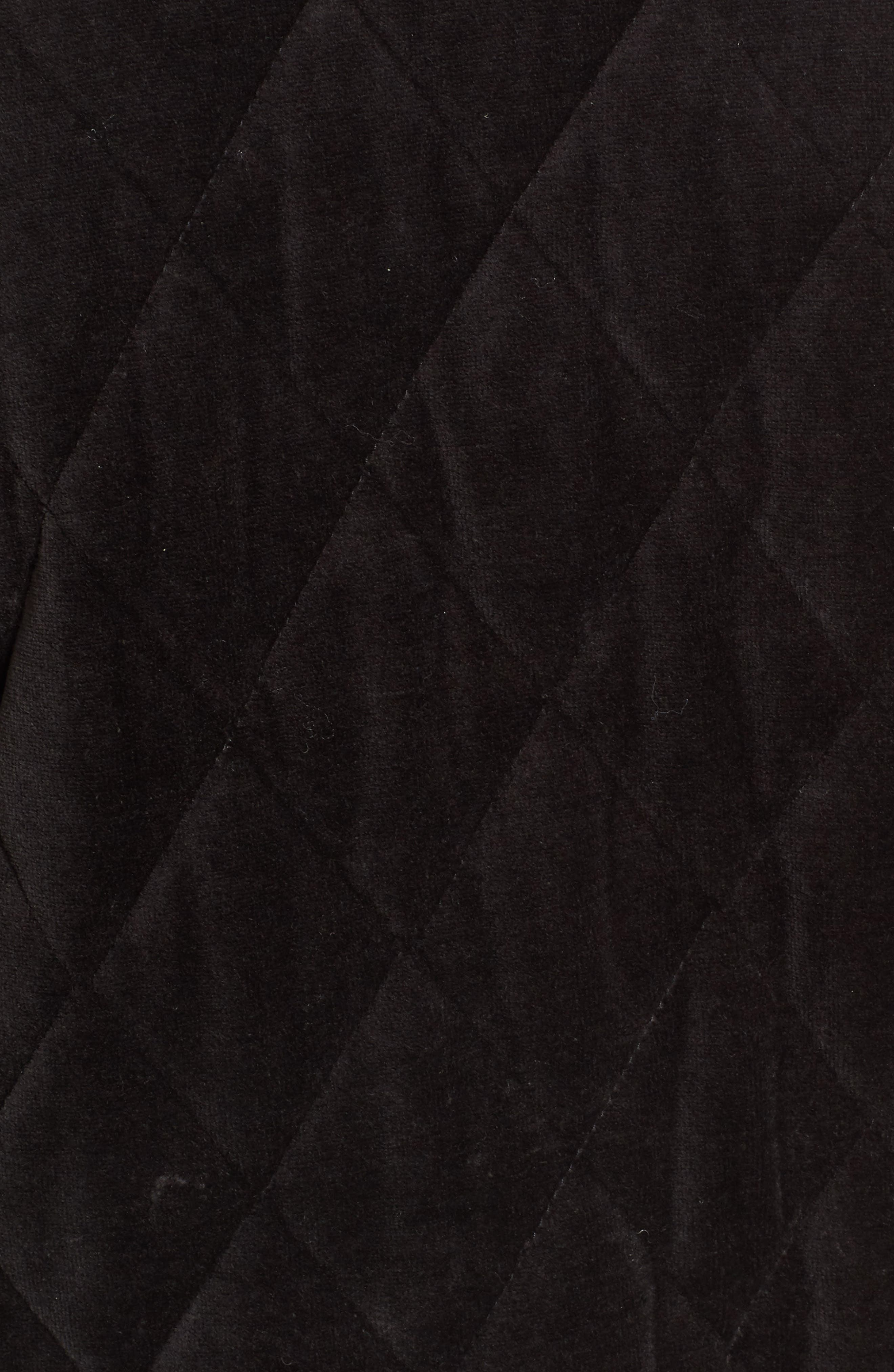 Alternate Image 5  - Juicy Couture Velour Quilted Puffer Coat